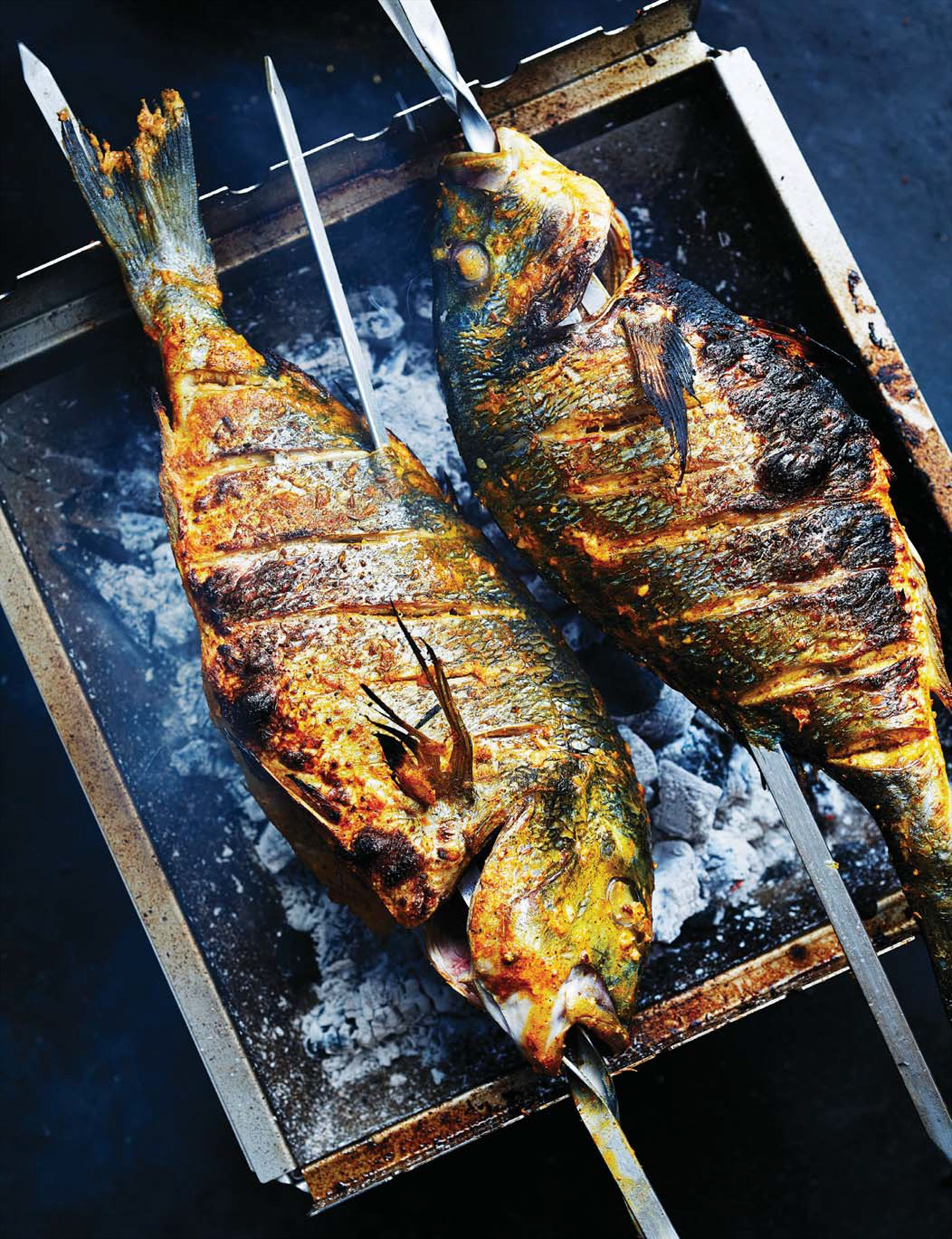 Tandoori whole fish