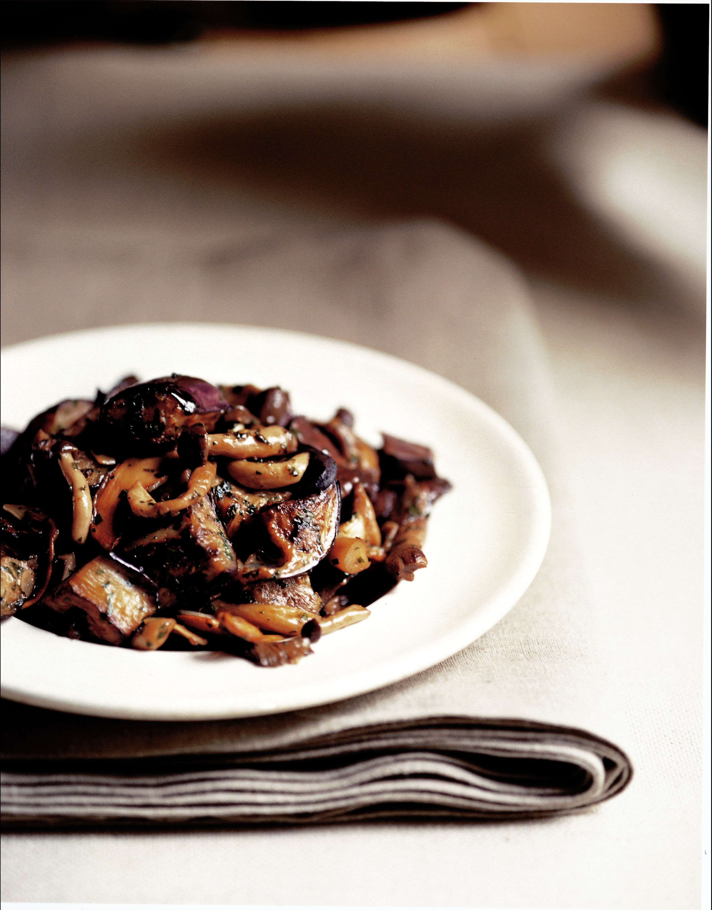 Caponata of mushrooms