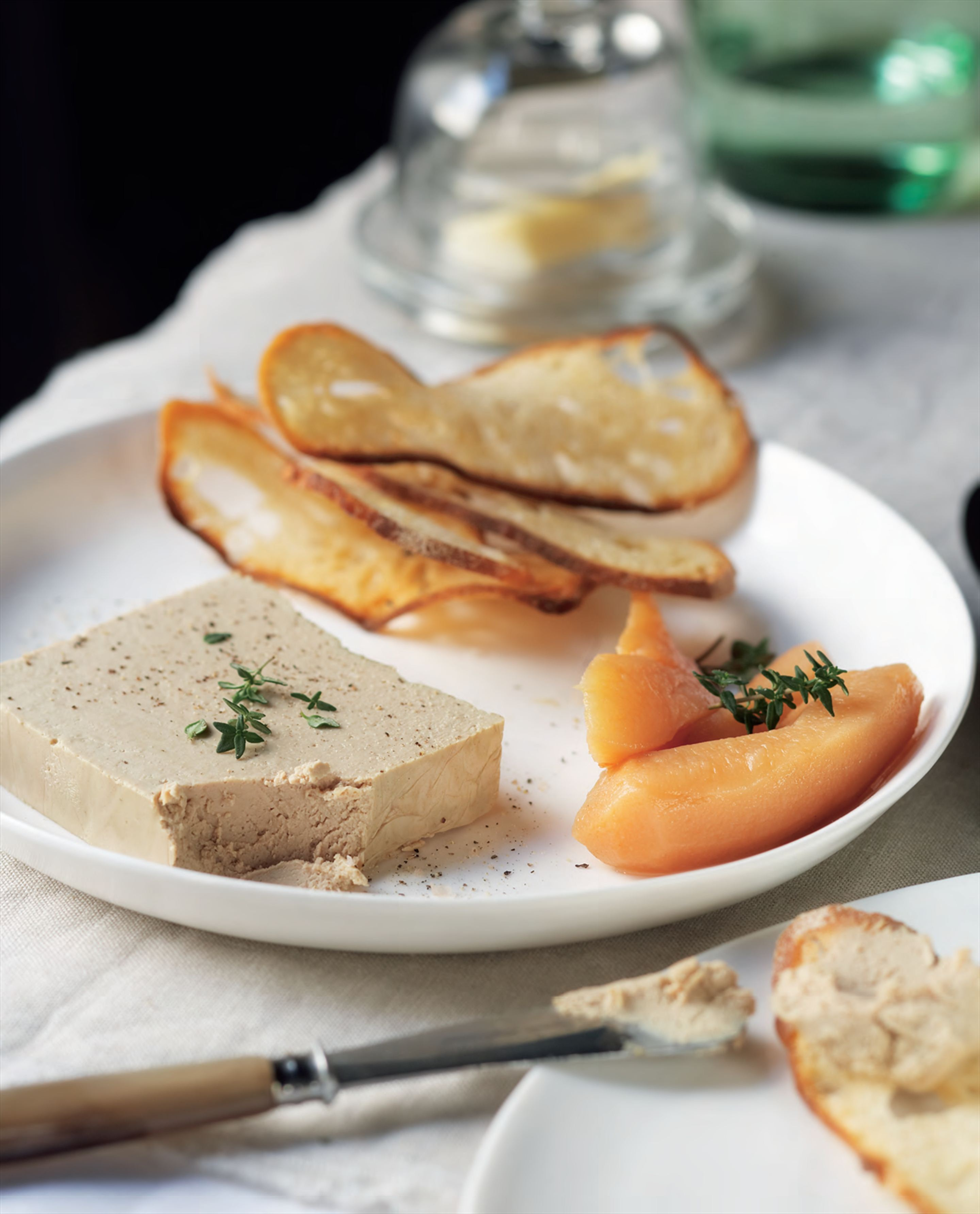 Chicken liver parfait with cognac