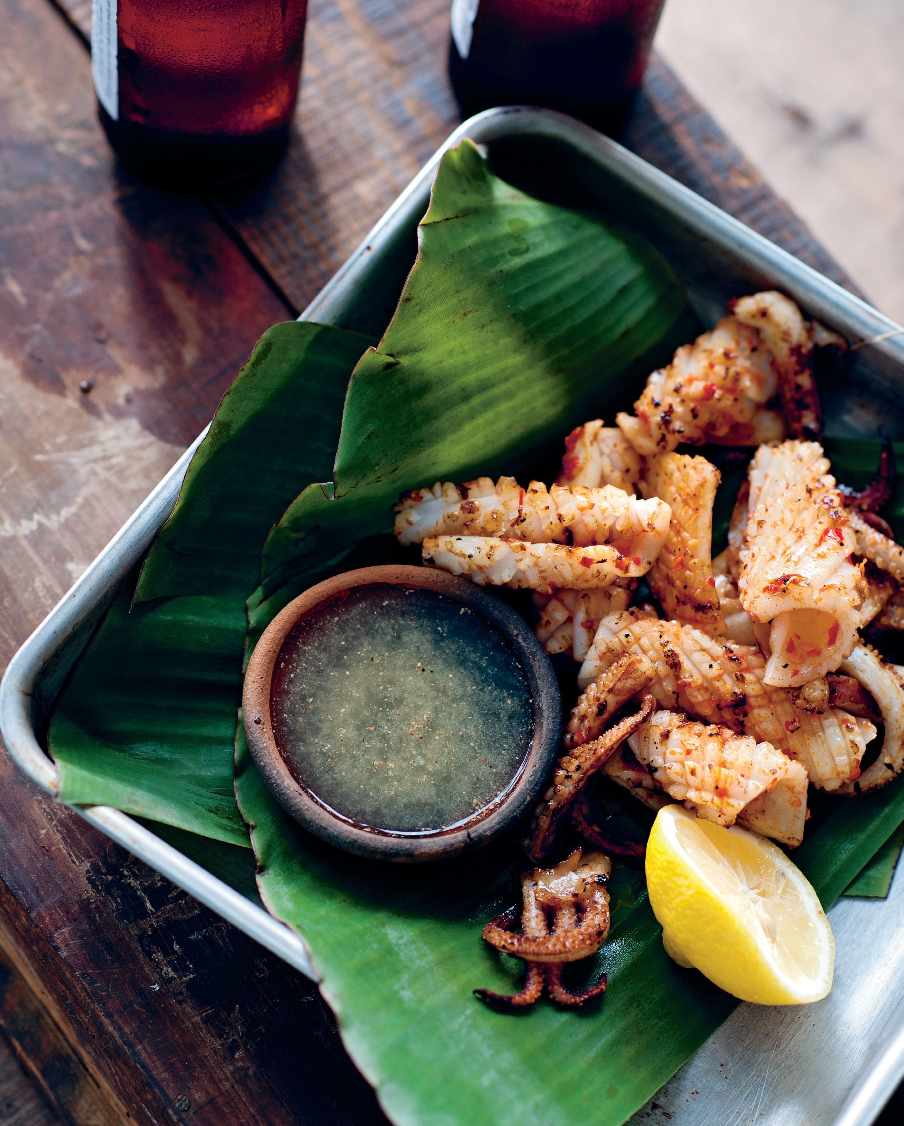 Chargrilled Phu Quoc salt and chilli squid
