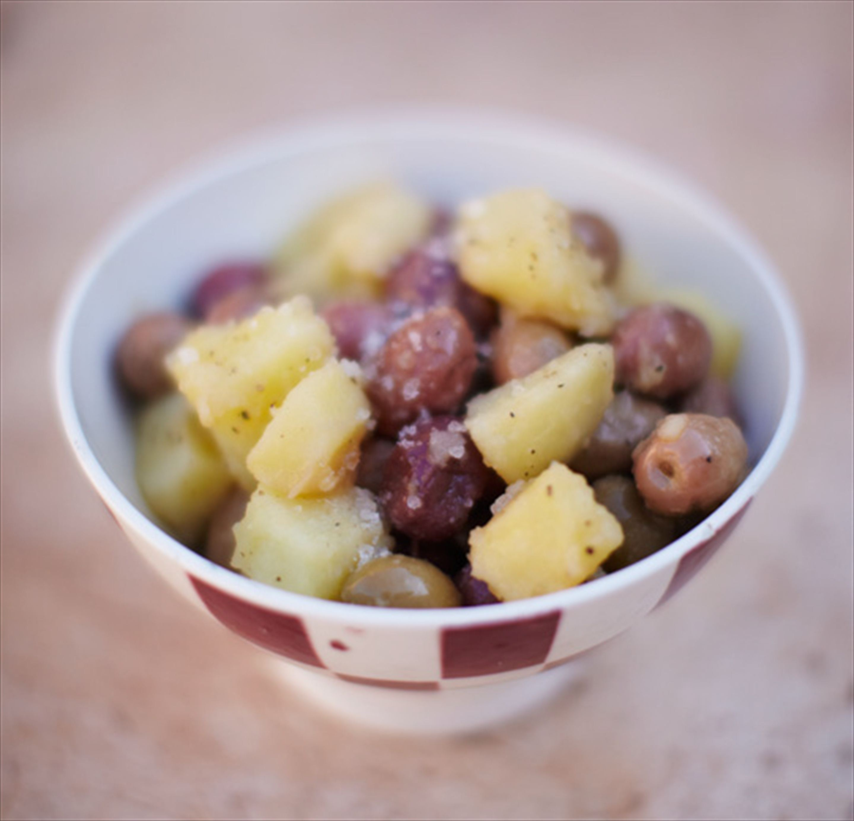Potato & olive salad