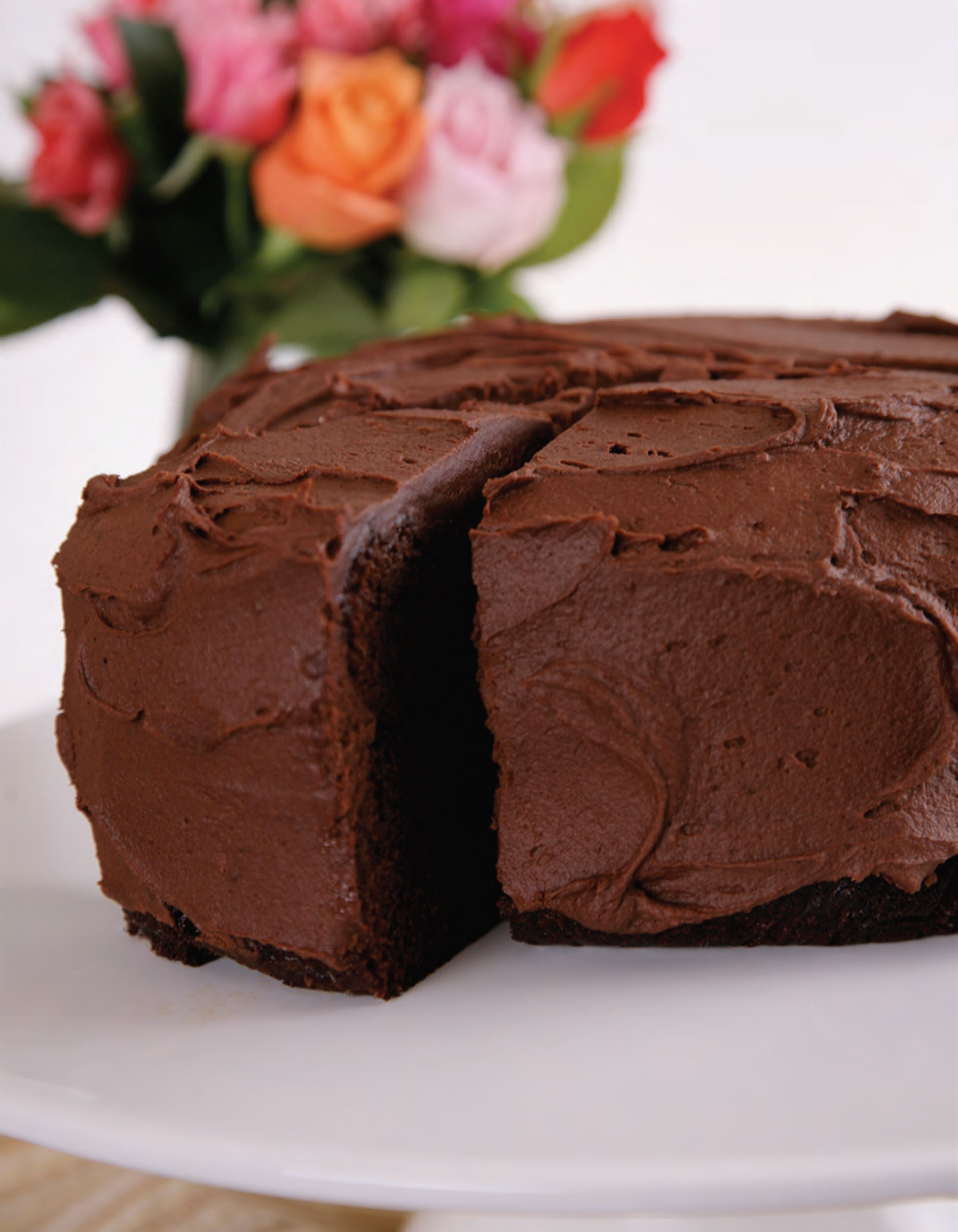 Natalie's moist chocolate cake