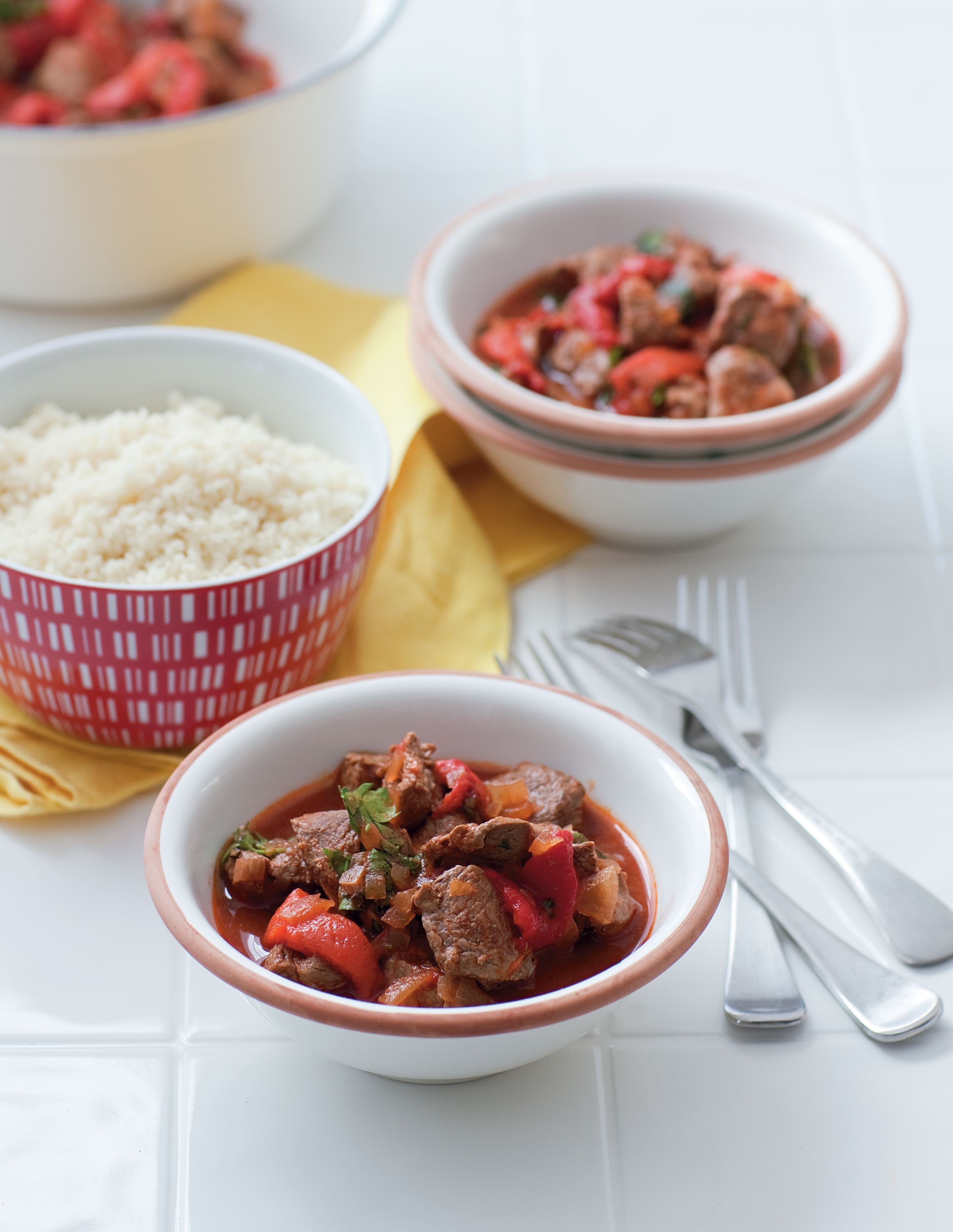 Spanish lamb stew