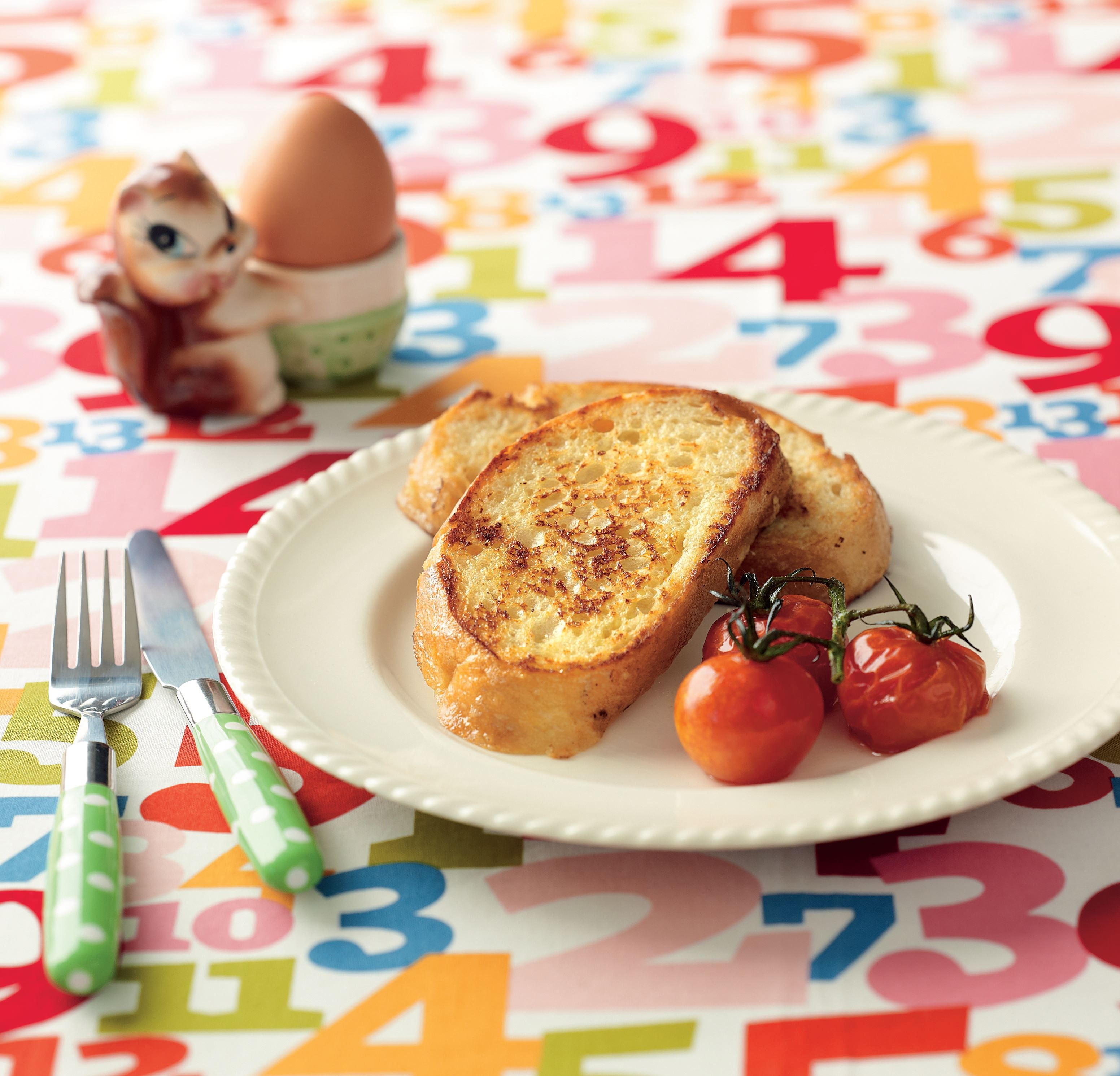 Savoury French toast