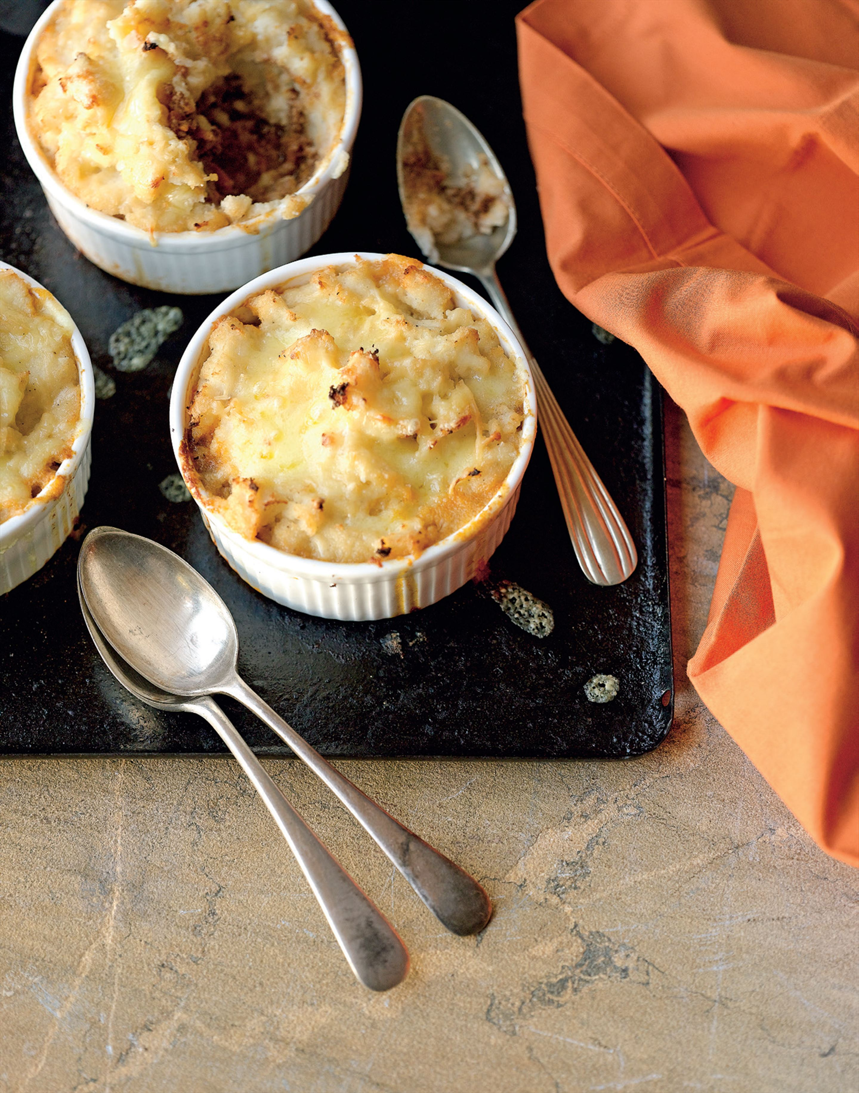 Cottage pie pots