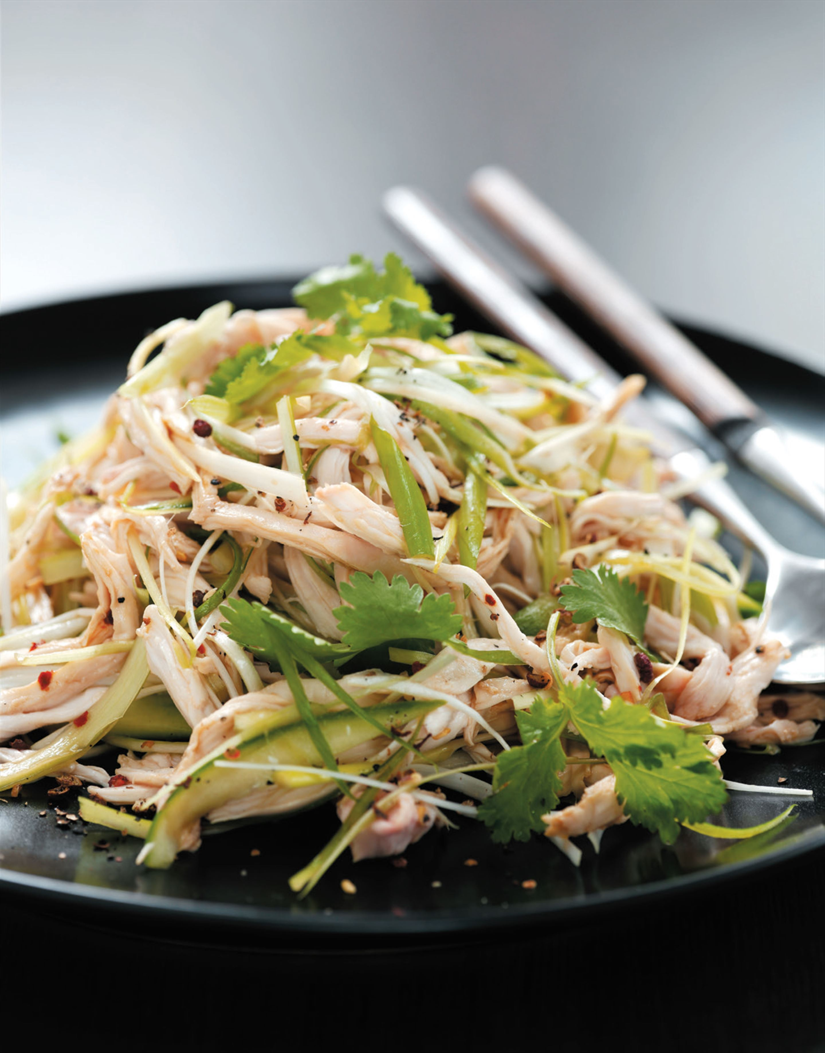 Sichuan chicken salad
