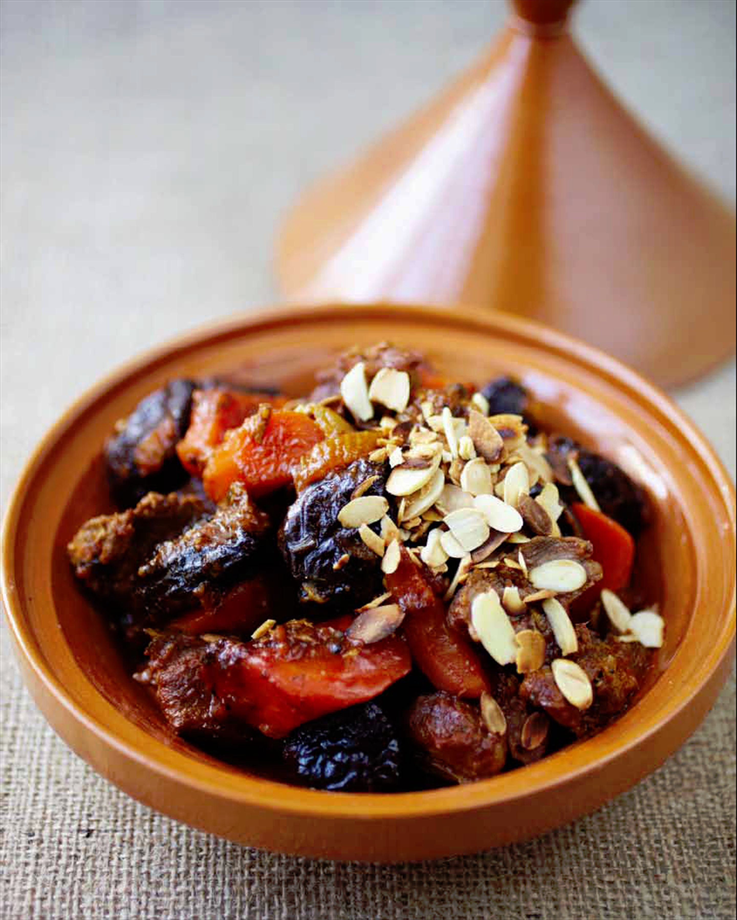Lamb & prune tagine