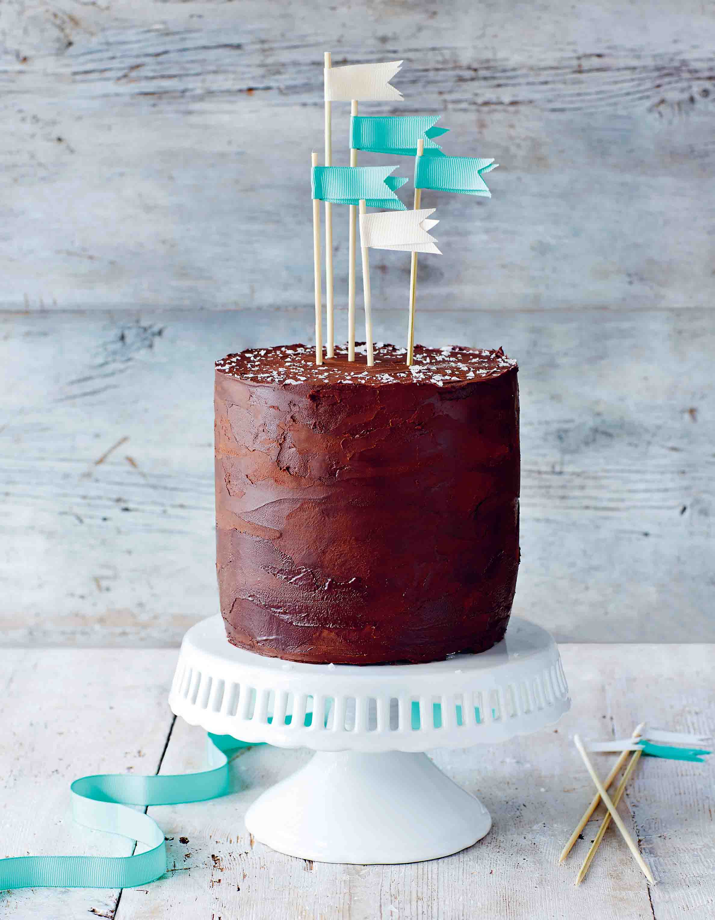 Sea-salted caramel chocolate cake