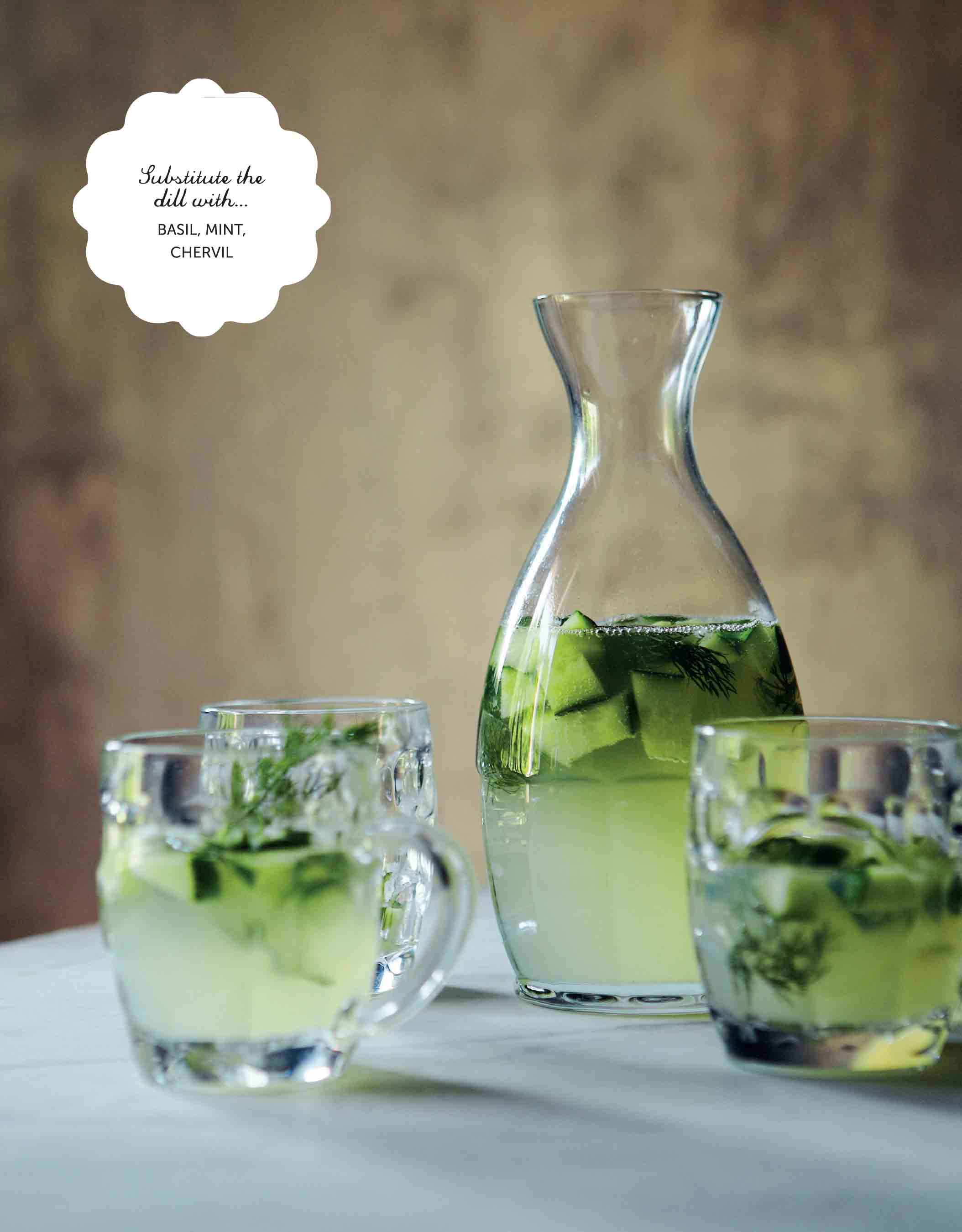 Dill and cucumber gin