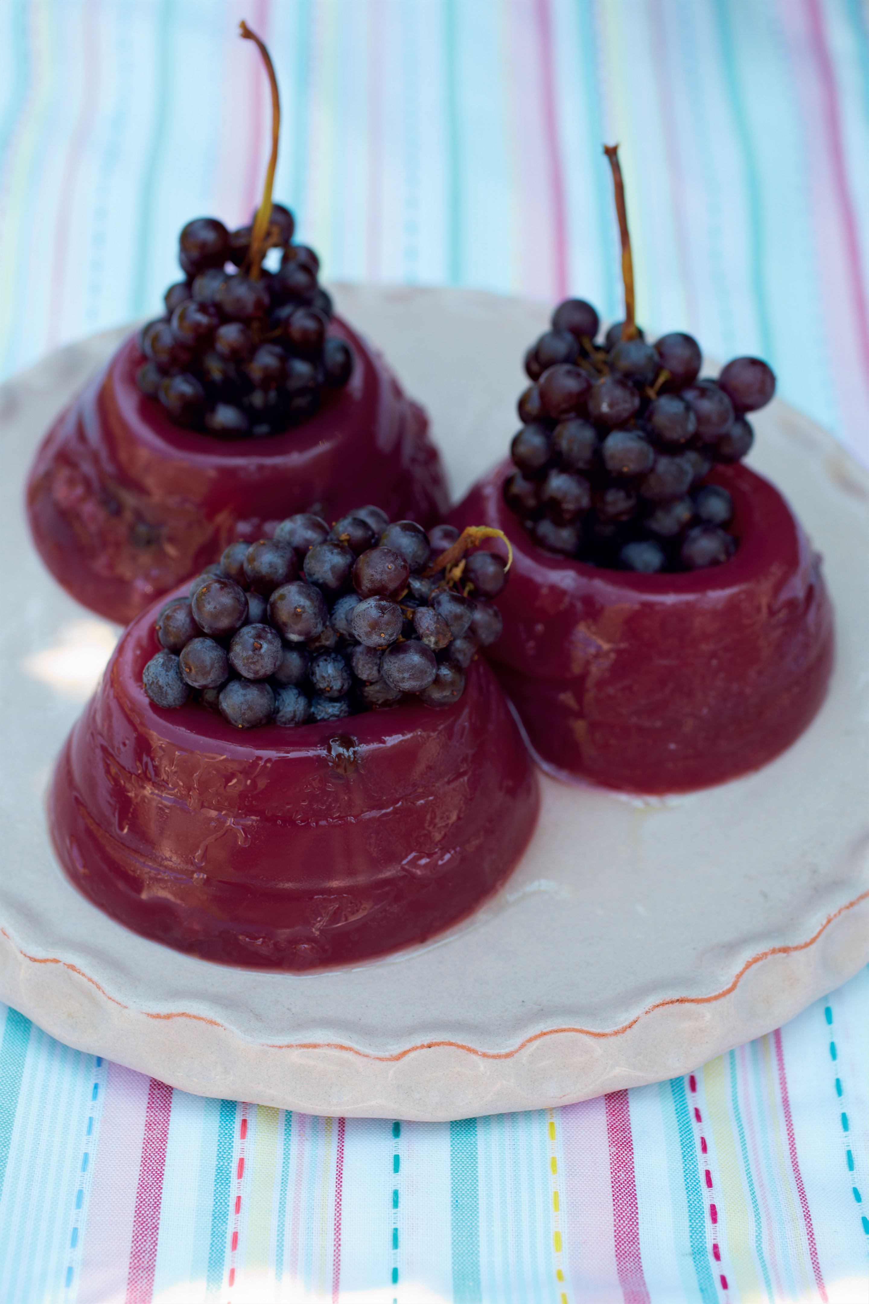Grape must pudding