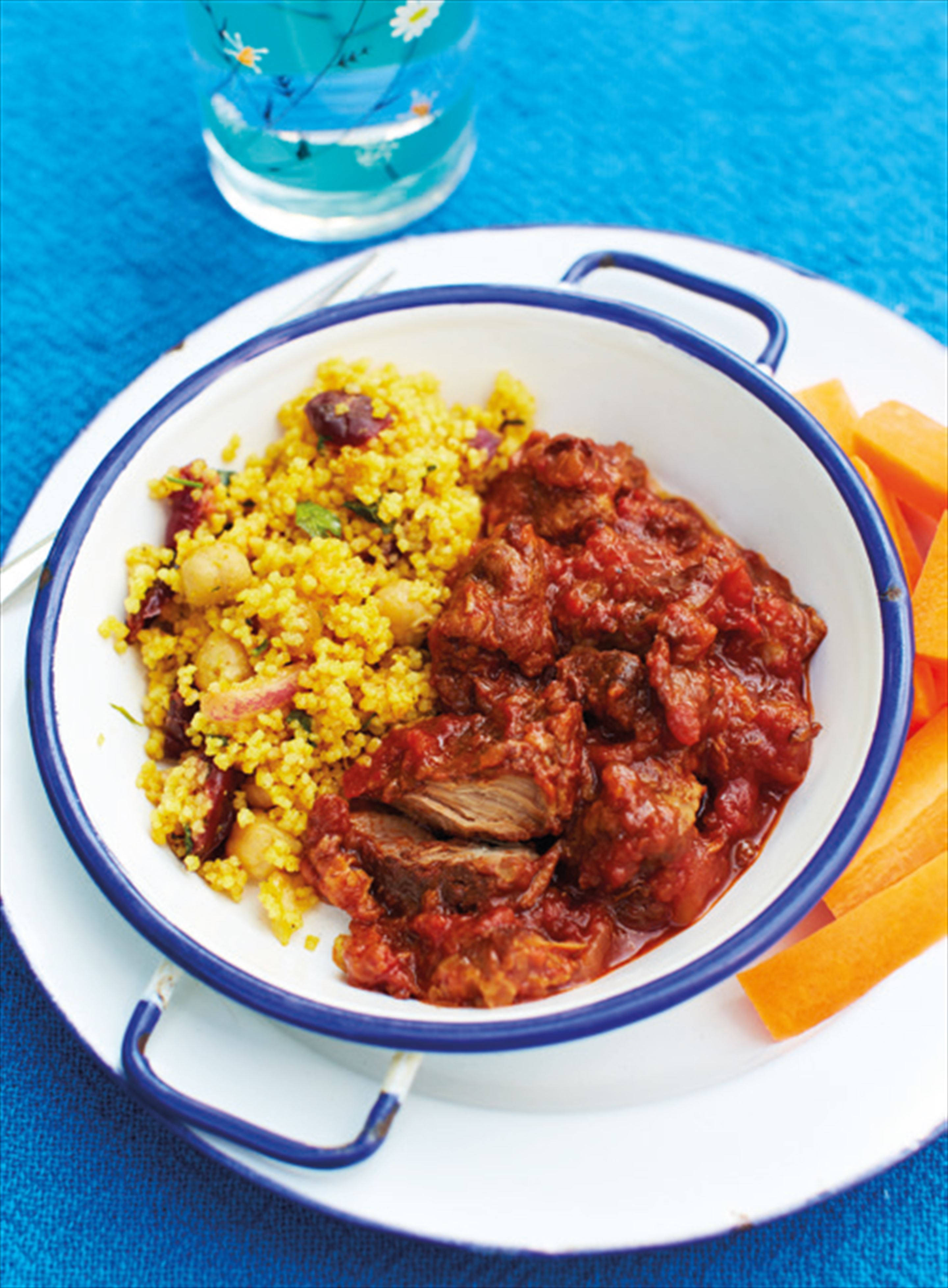 A sweet and melting inauthentic lamb tagine