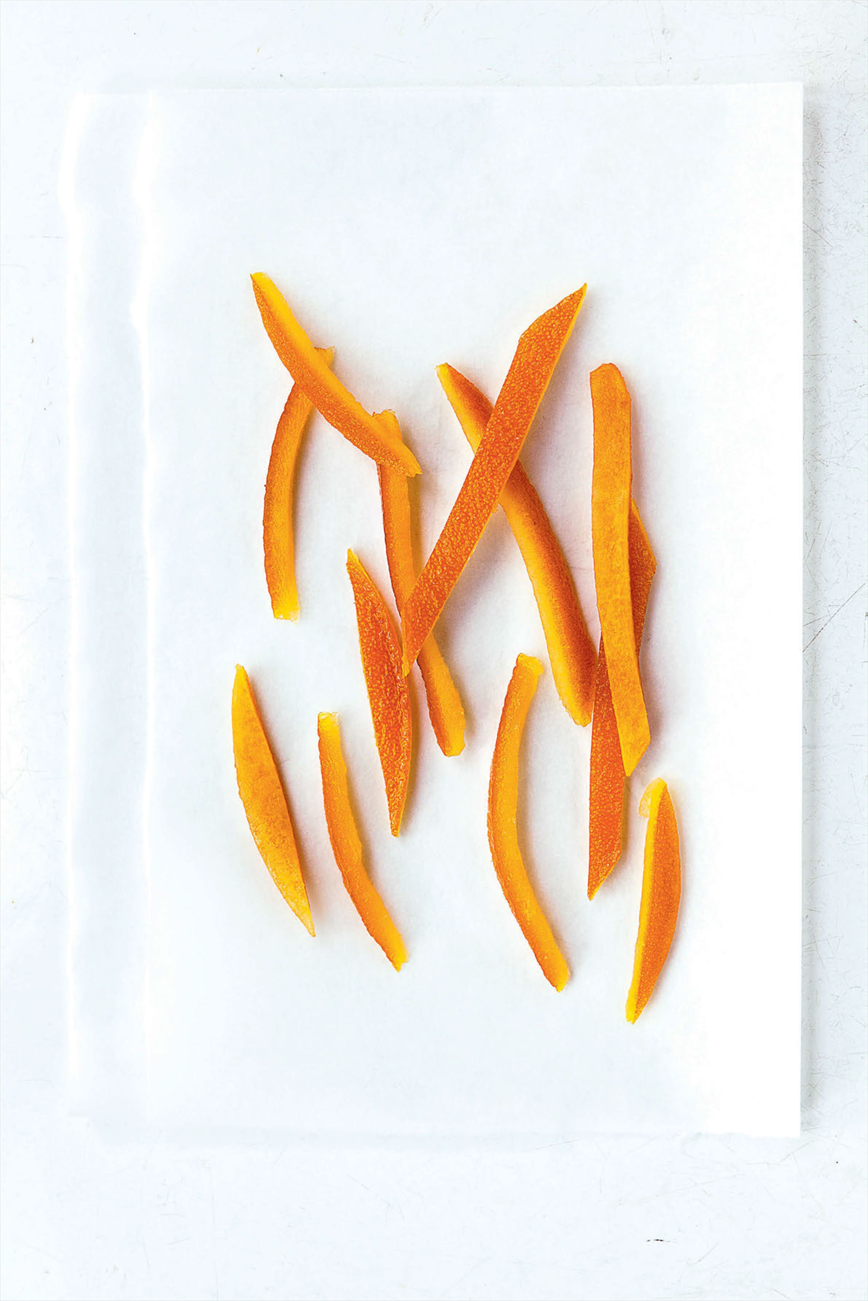 Candied orange peel