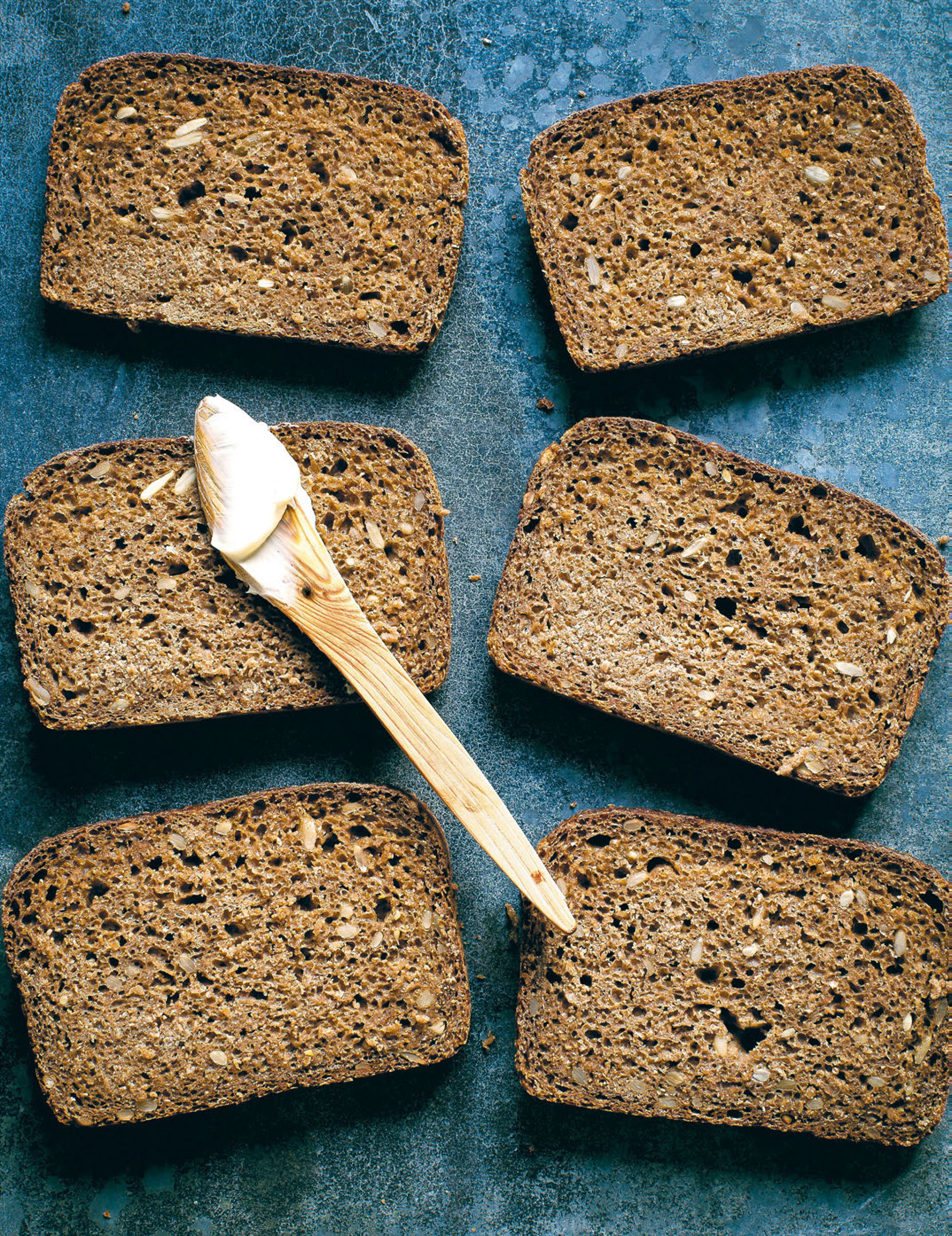 Authentic Danish rye bread