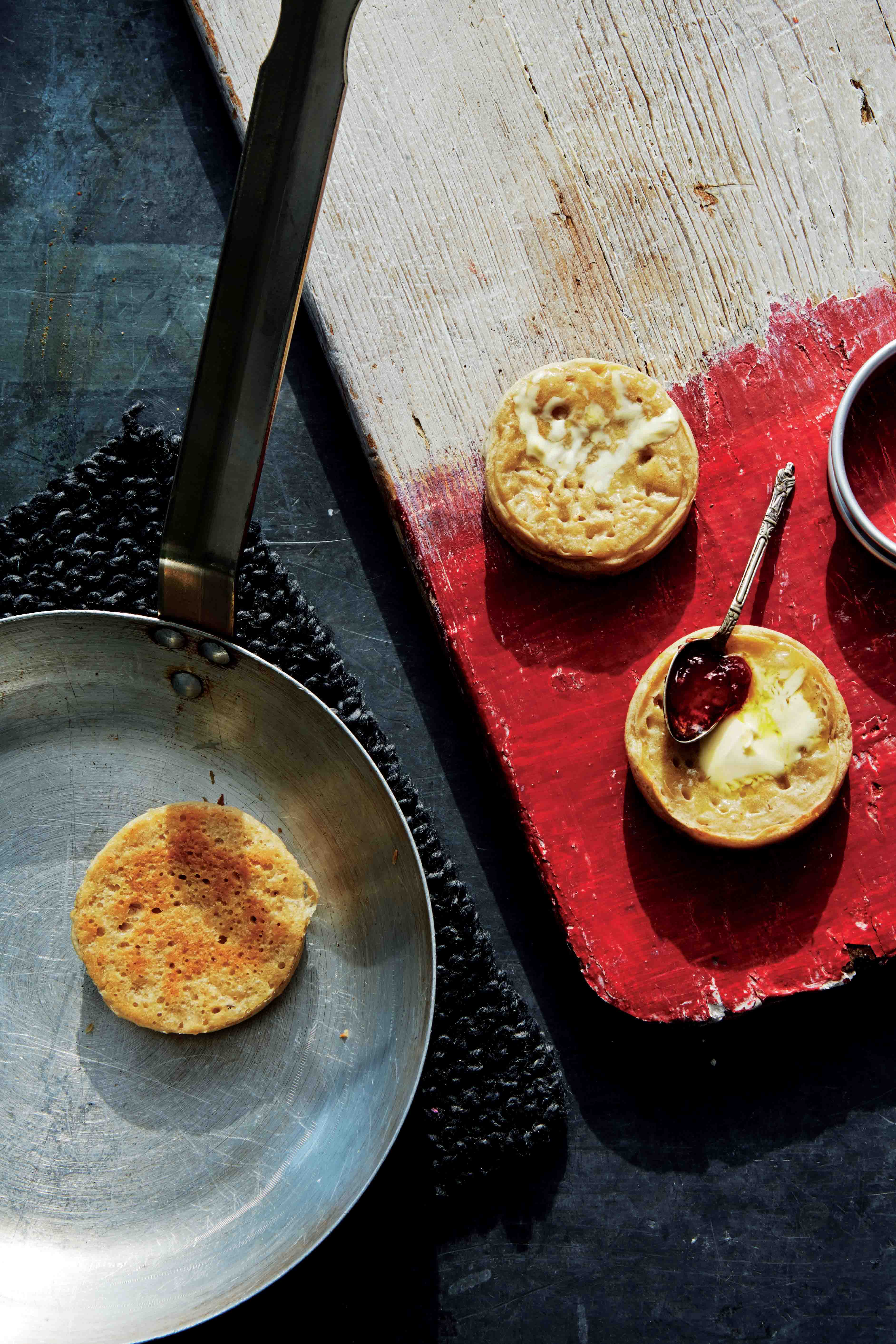 Light-as-air crumpets