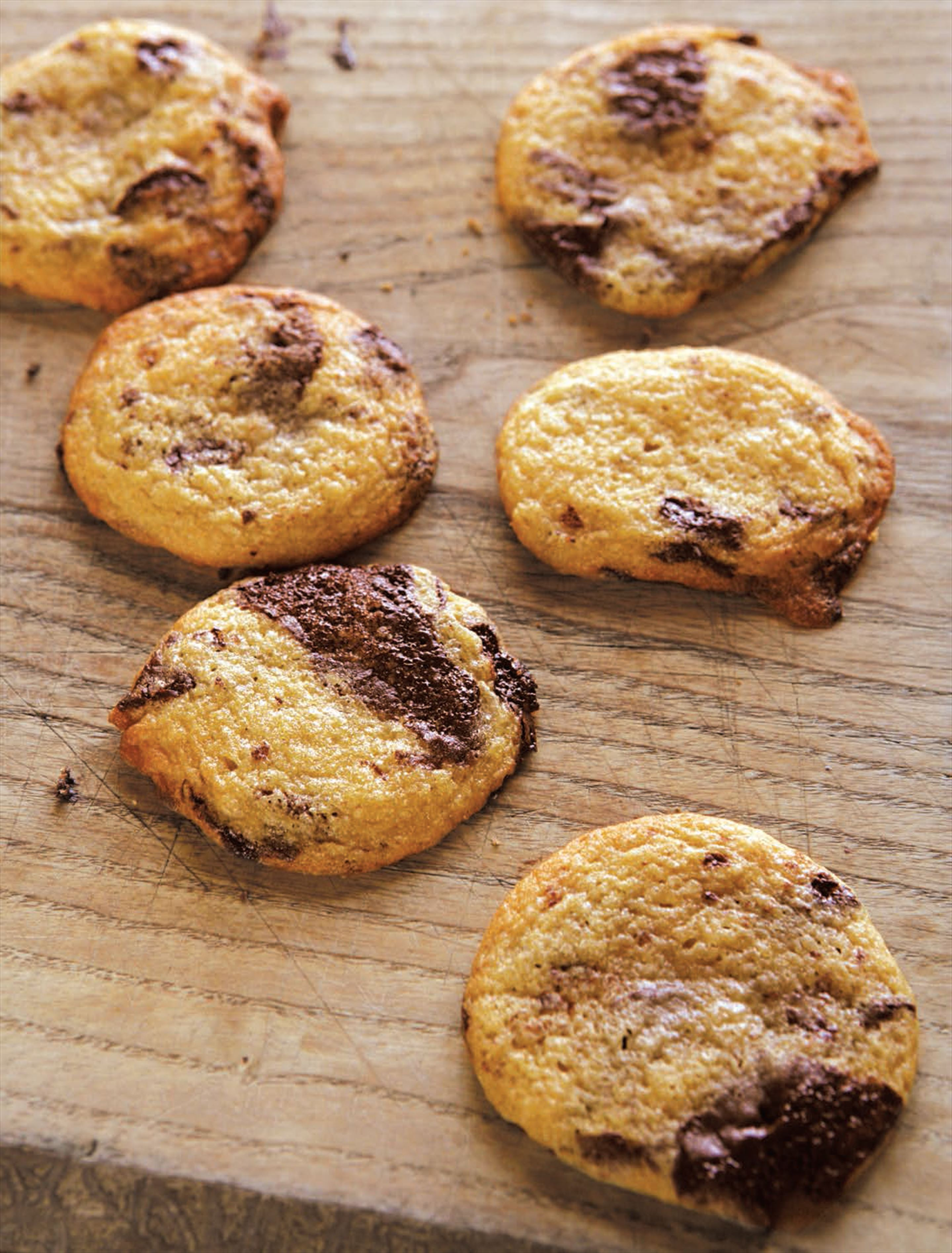 Ten-minute chocolate chip cookies