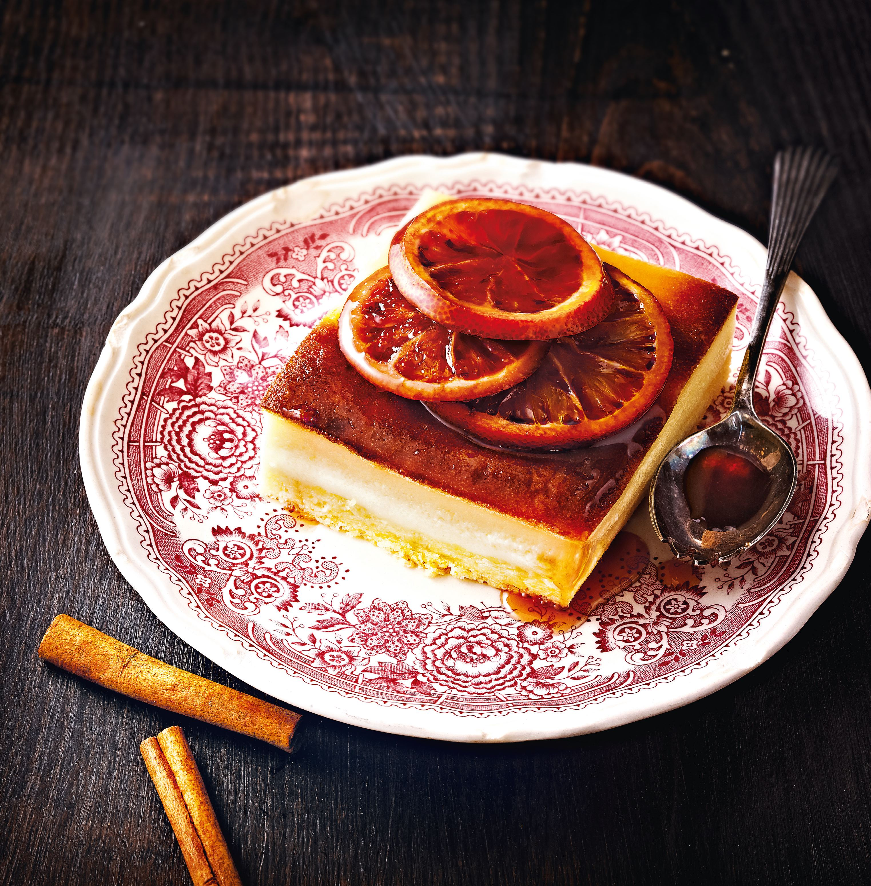 Orange and cinnamon cake
