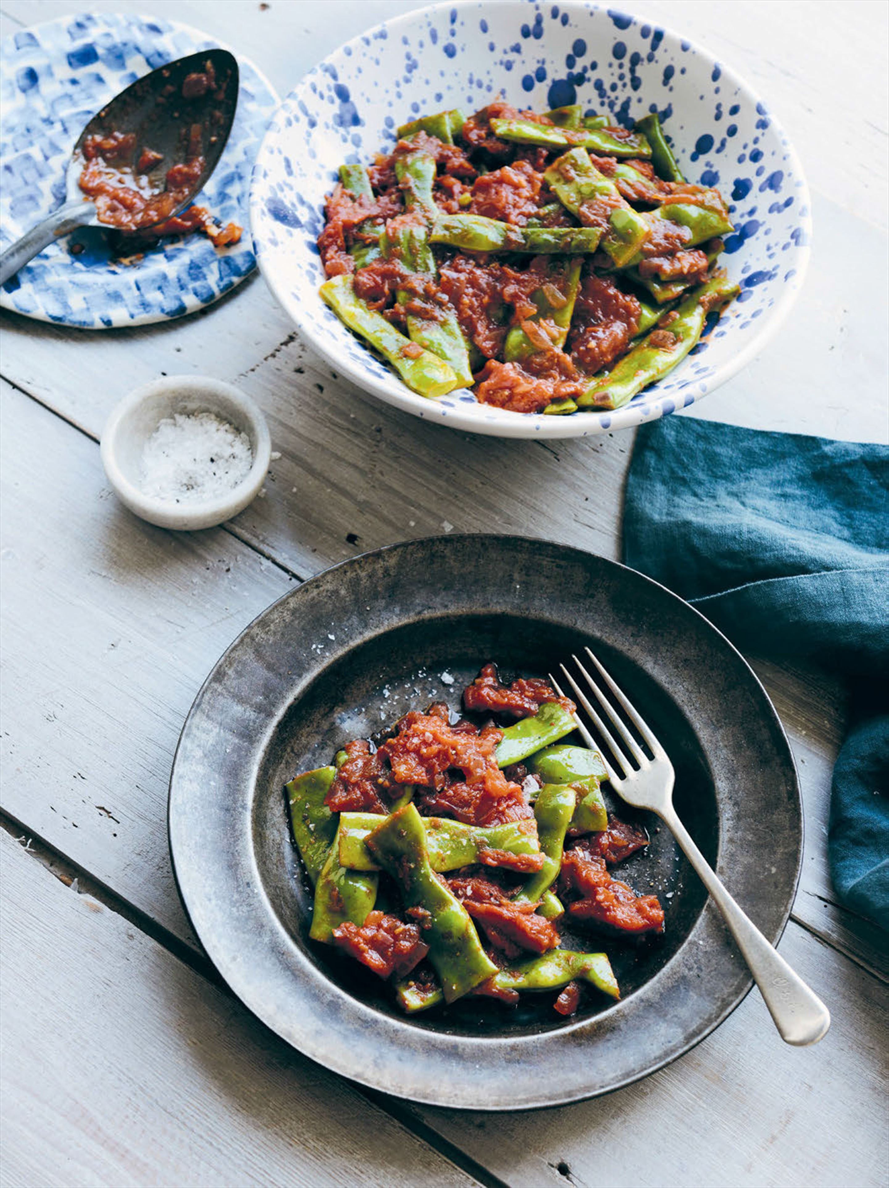 Florentine-style green beans