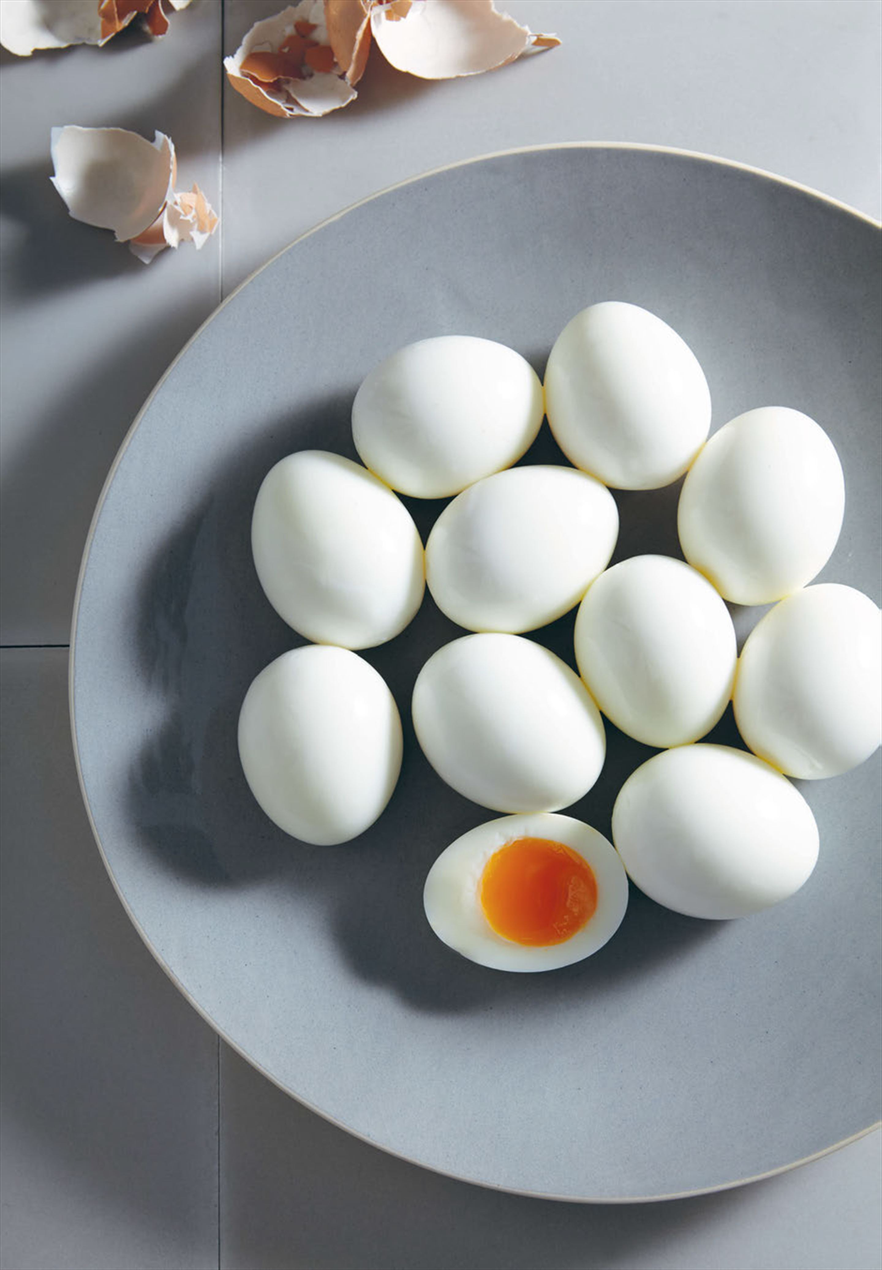 Perfectly boiled eggs