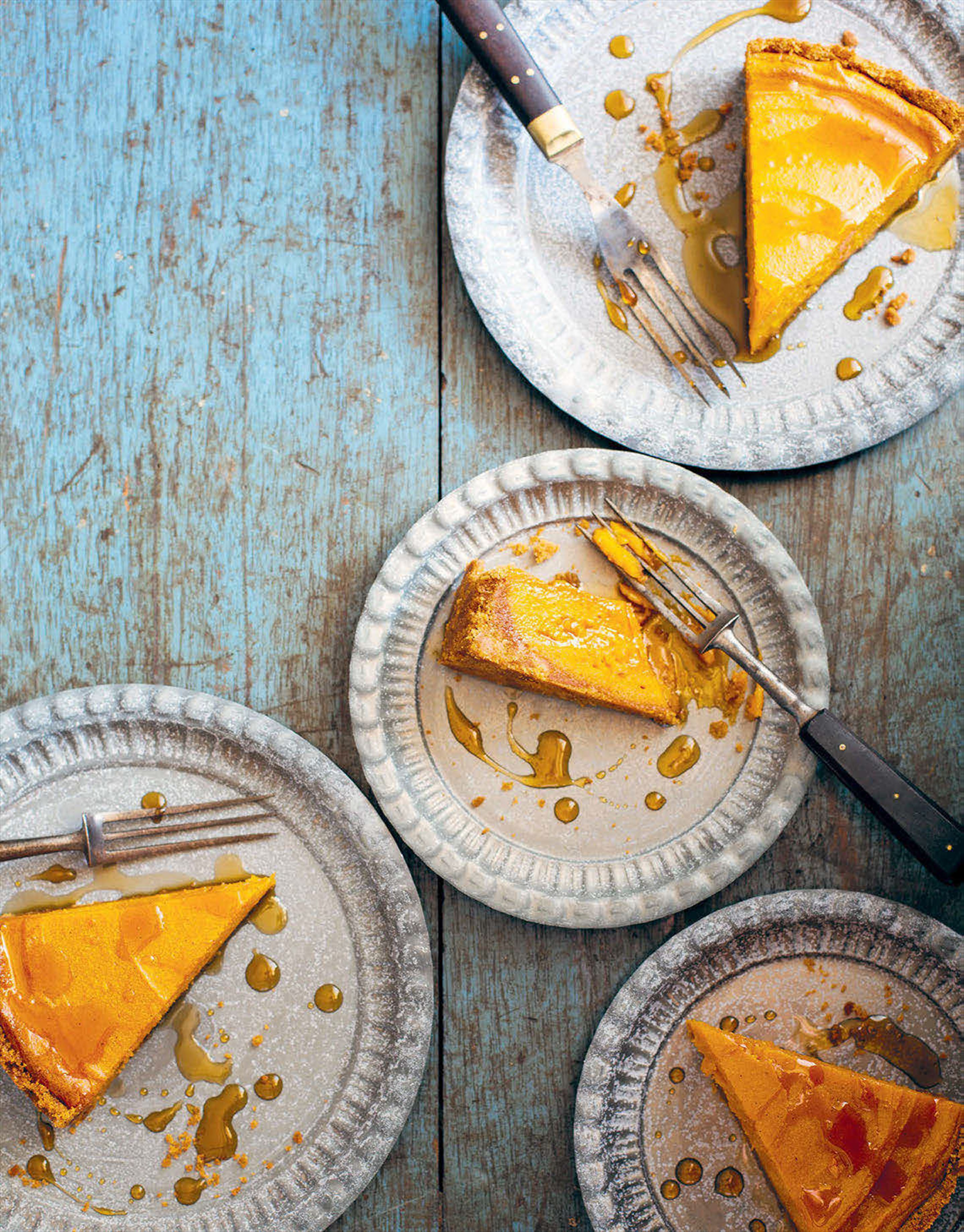 Sweet potato and maple pie