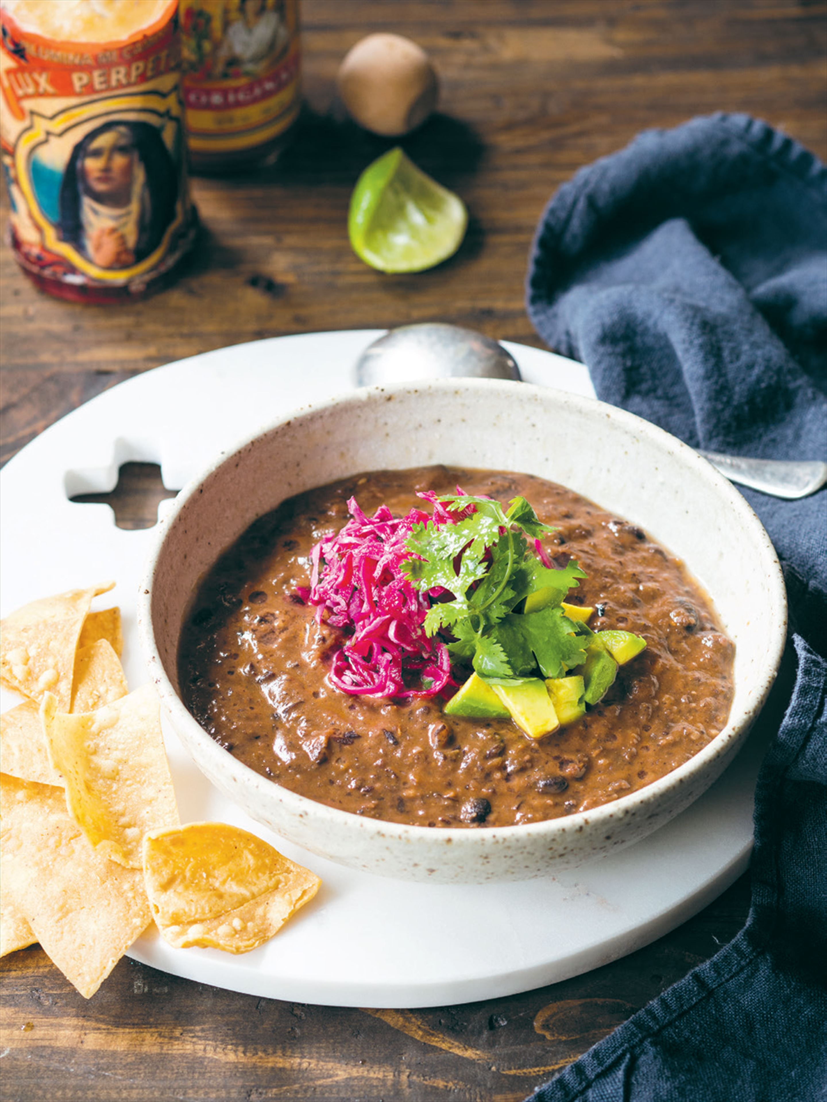 Brazilian black bean soup