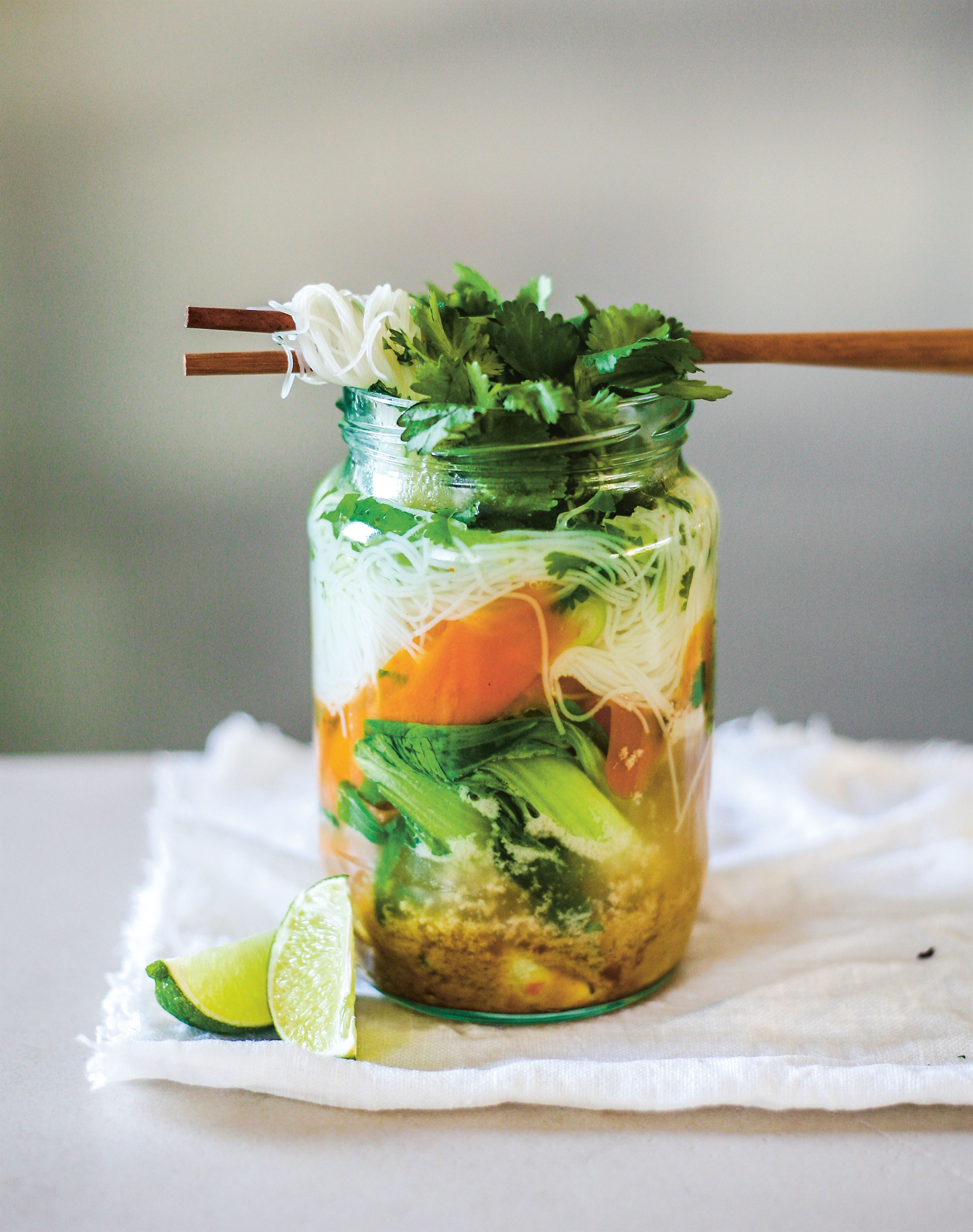 Thai green coconut curry instant jar soup