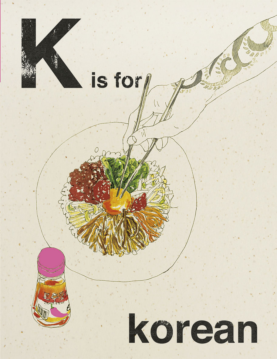 K is for Korean