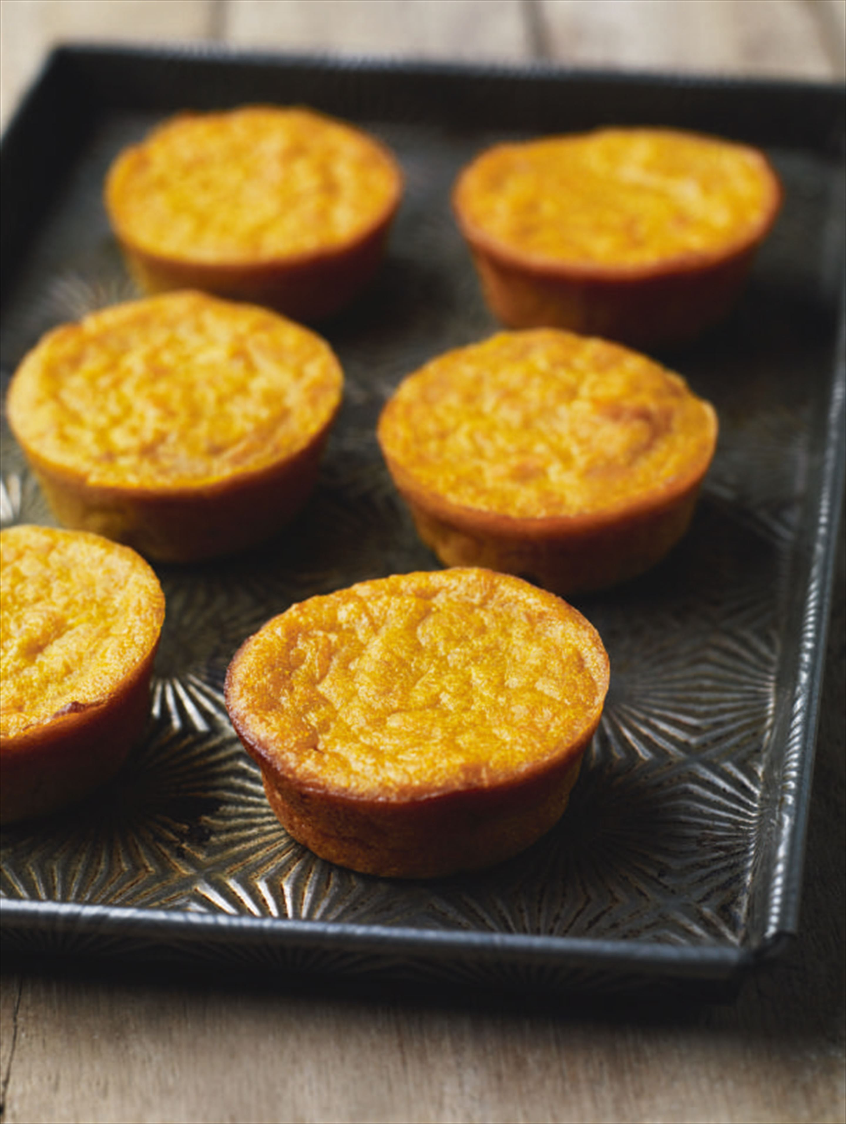 Carrot 'cheese' cakes
