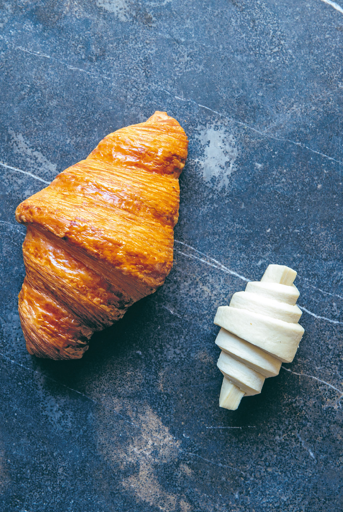 Croissant pastry