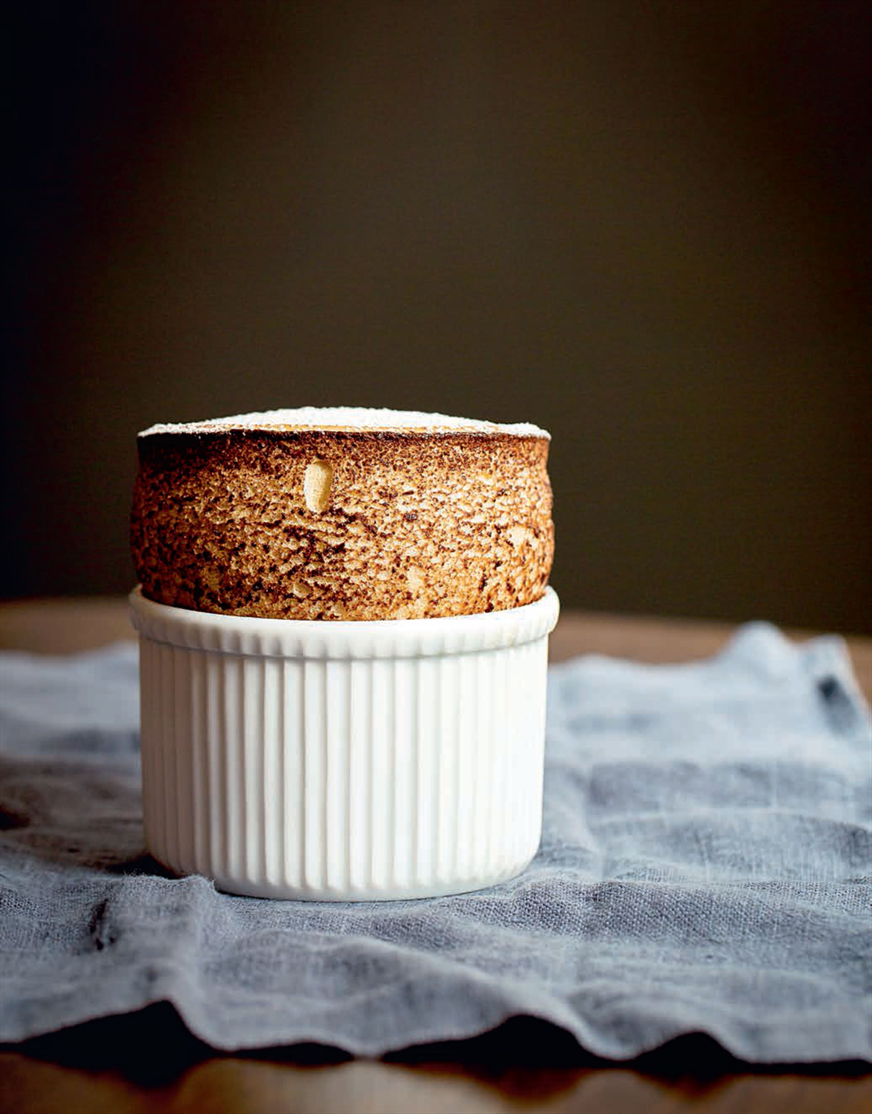 City social earl grey tea soufflé