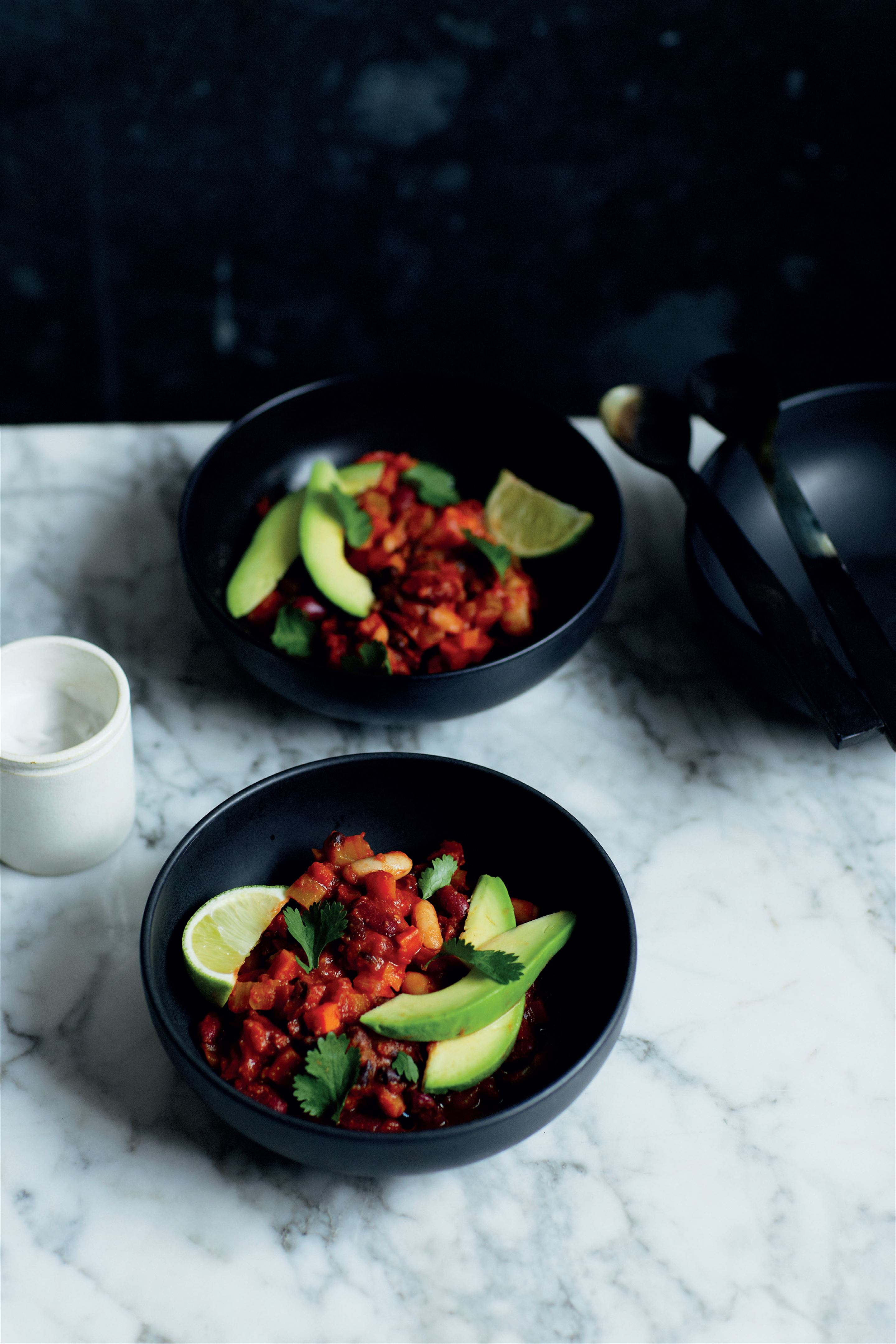 3-bean spicy chilli