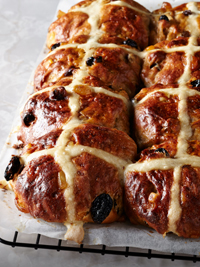 The joy of home-baked hot cross buns and the pursuit of perfection