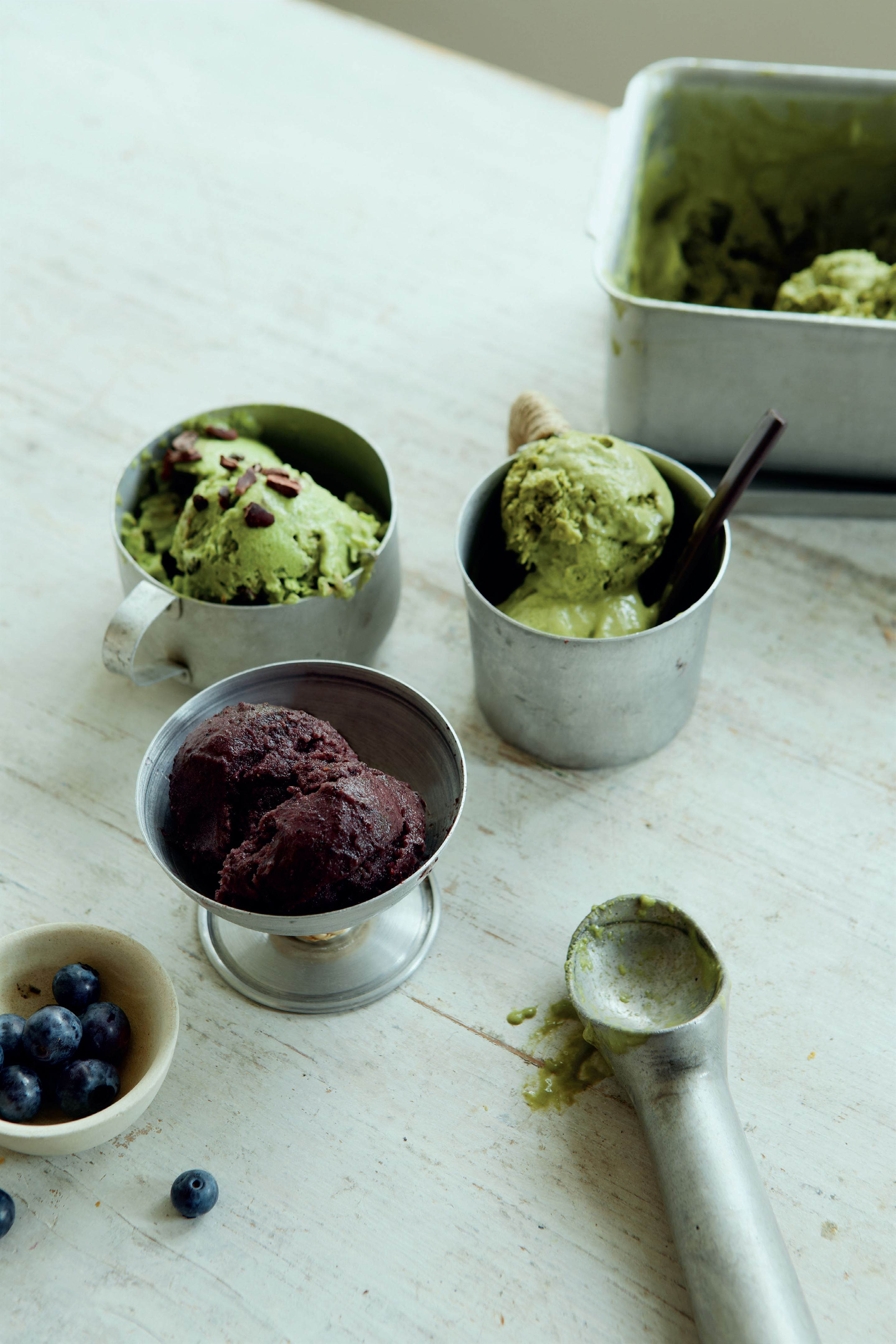 Mint cocochip ice cream
