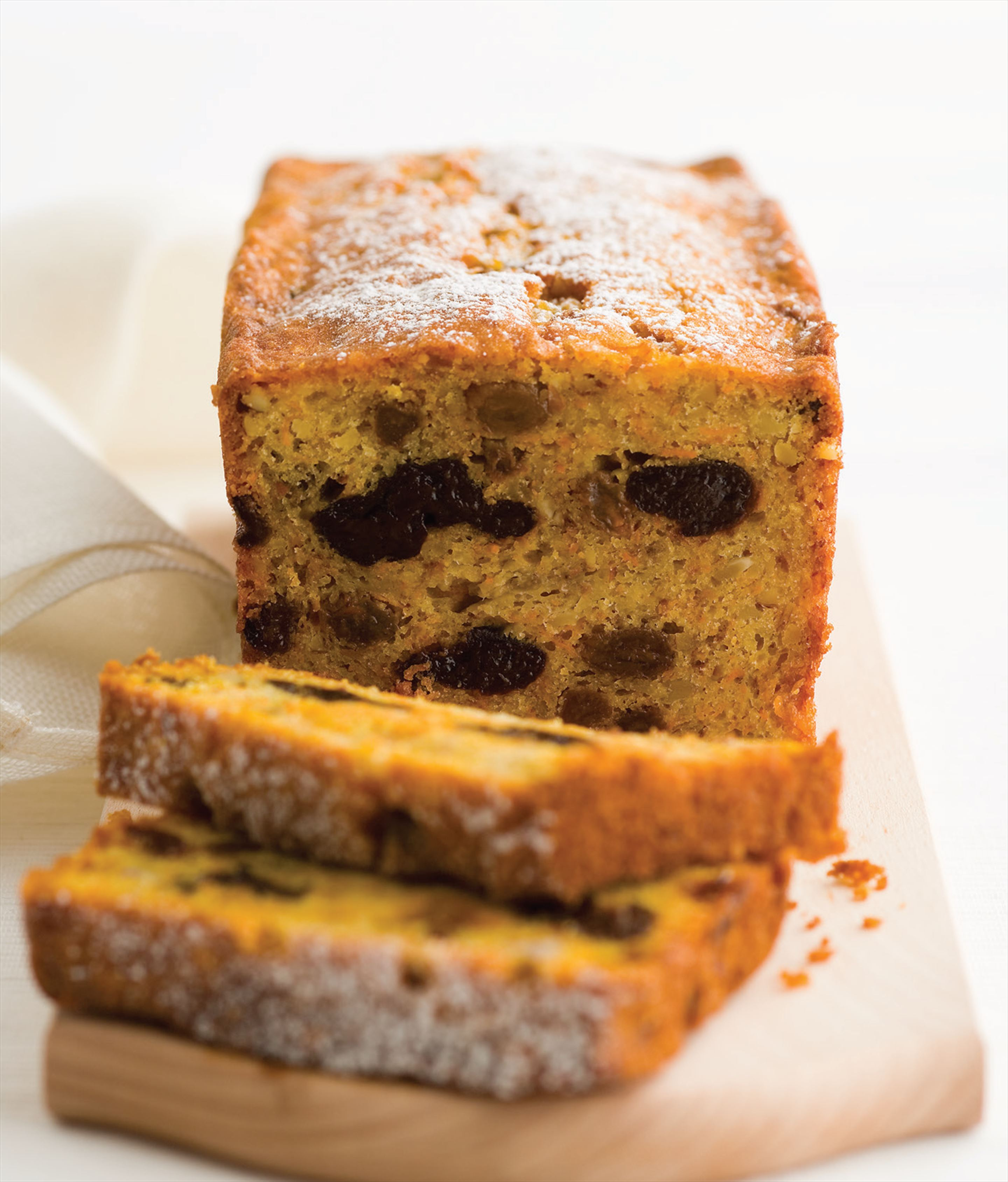 Banana, carrot and sultana loaf