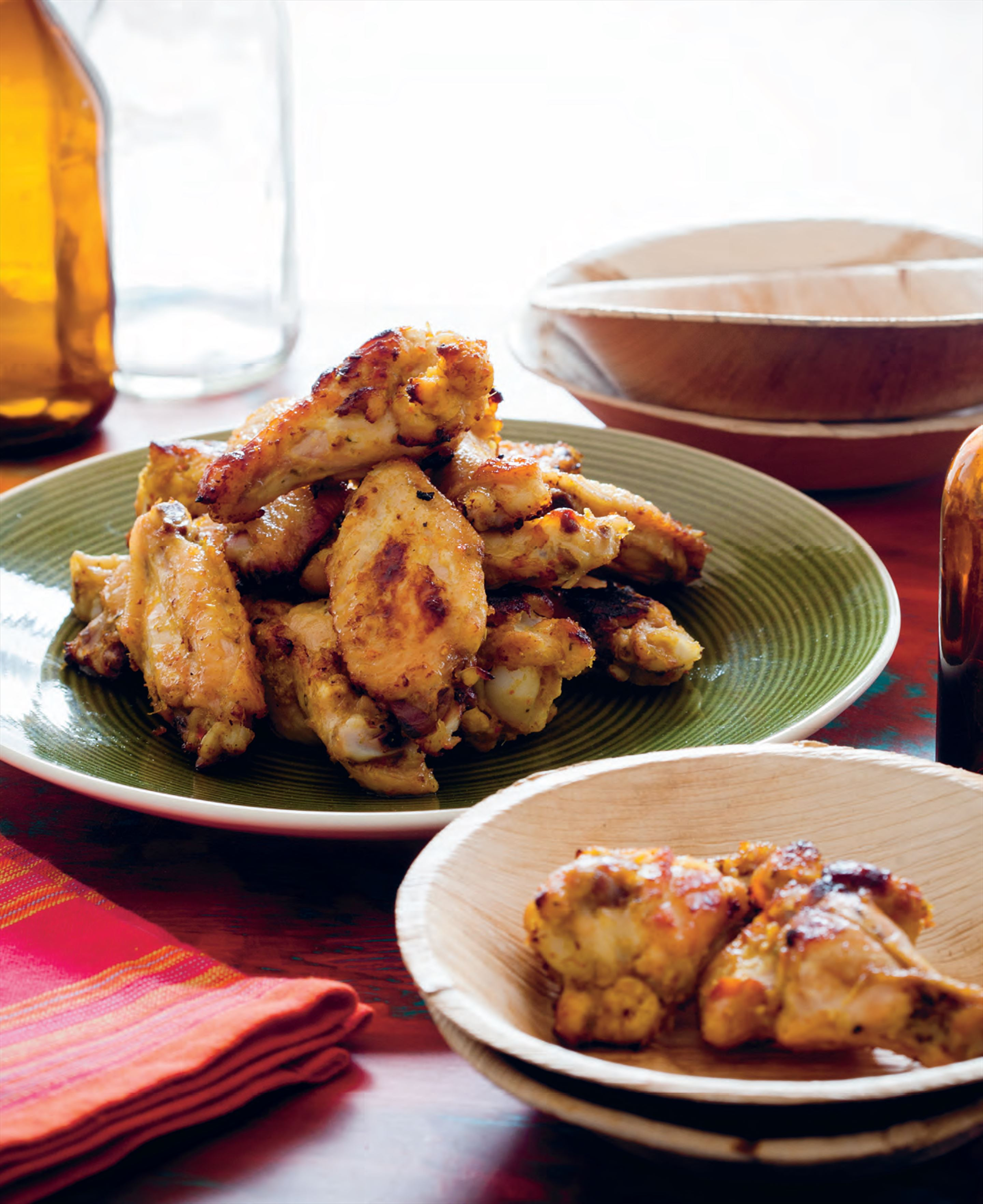 Lemongrass chicken wings