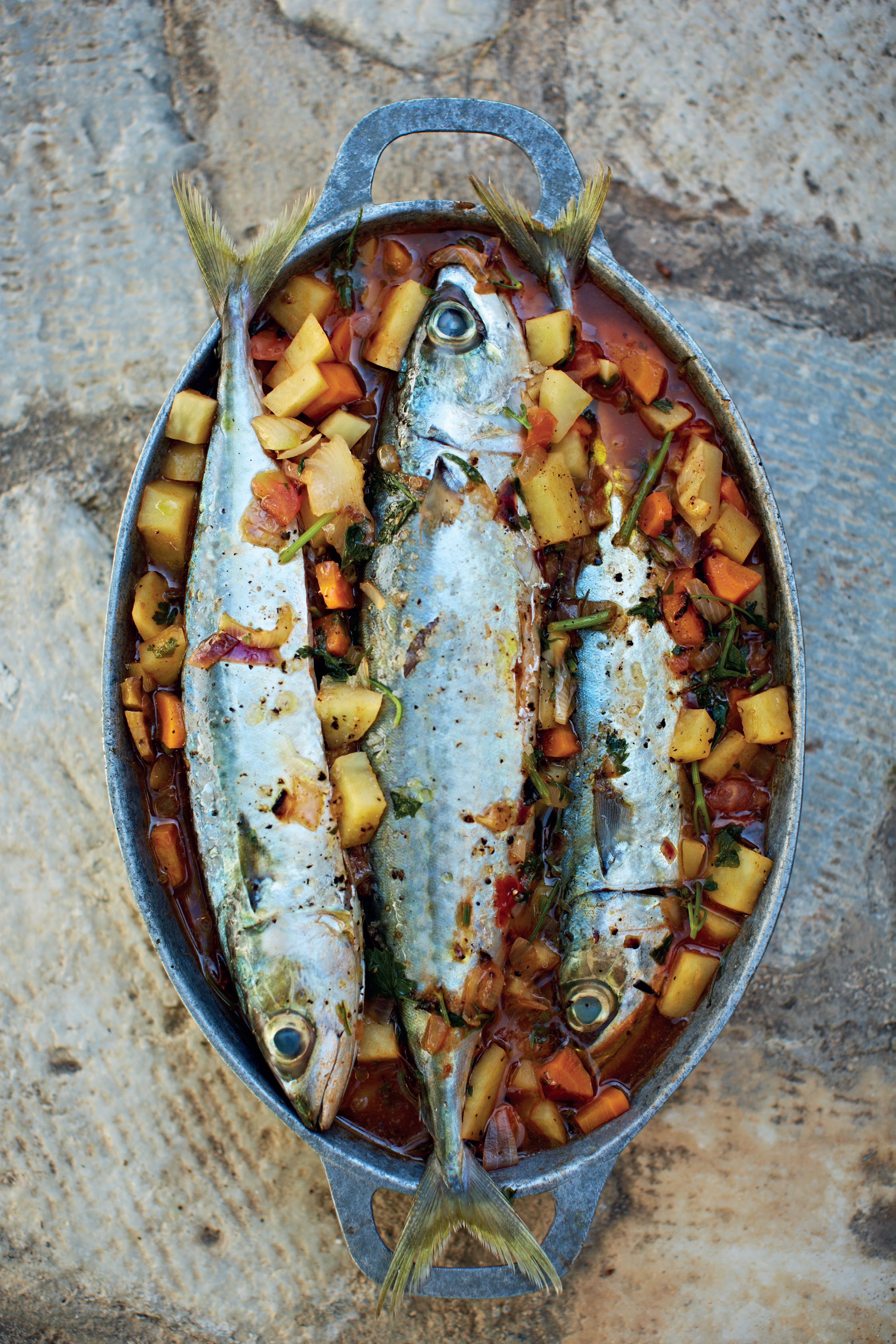 Mackerel pilaki