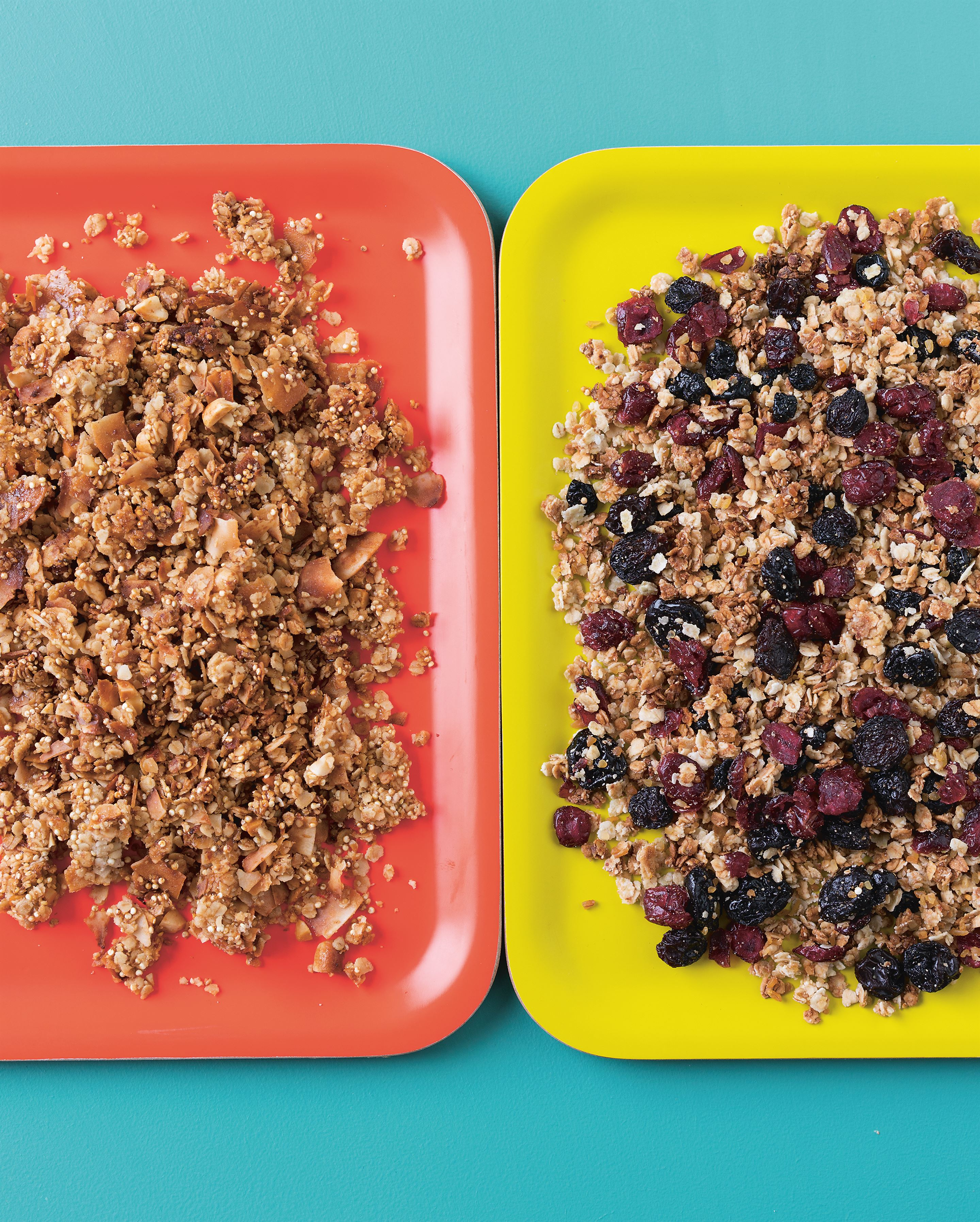 Honey and quinoa granola