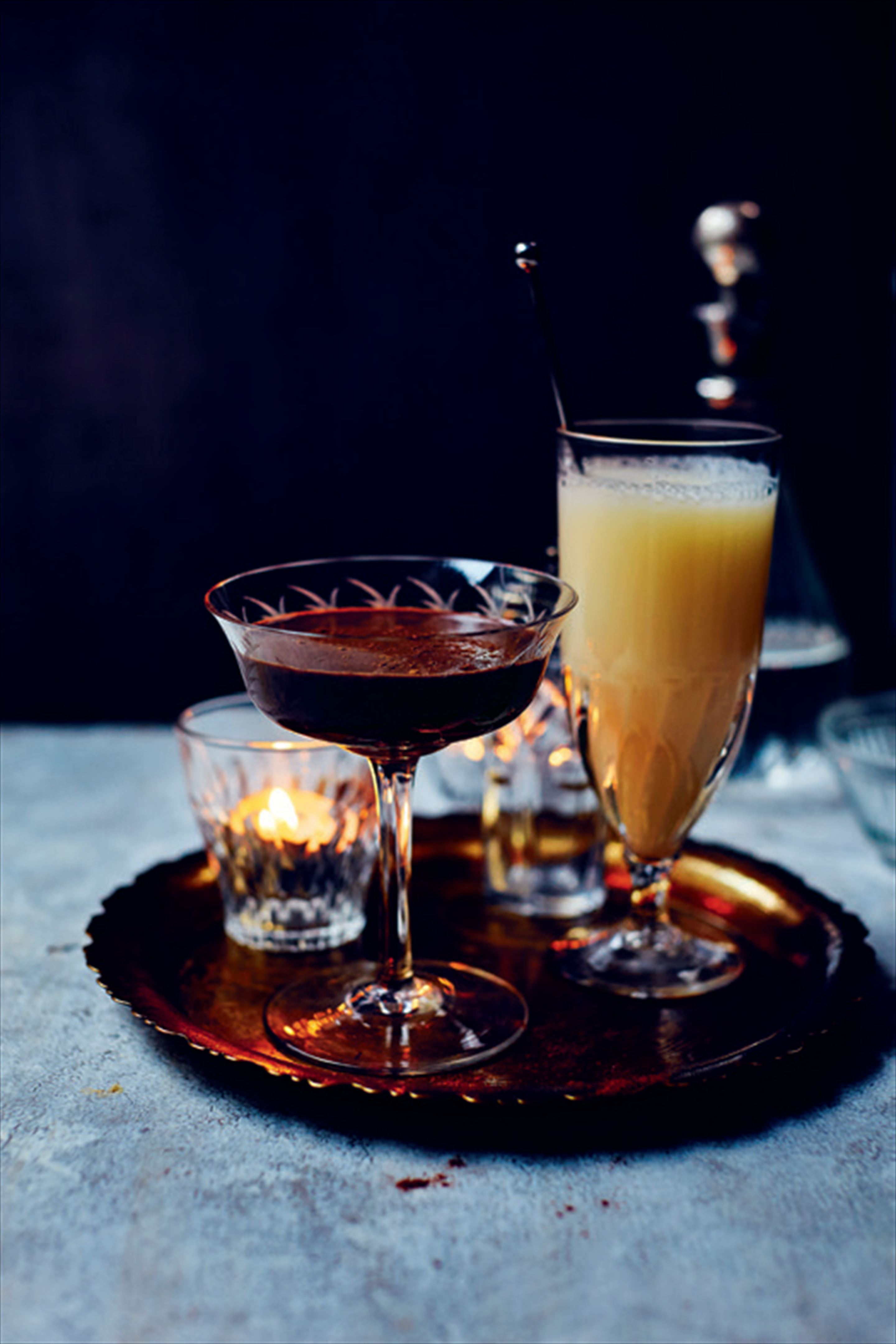 Spiced chocolate martini