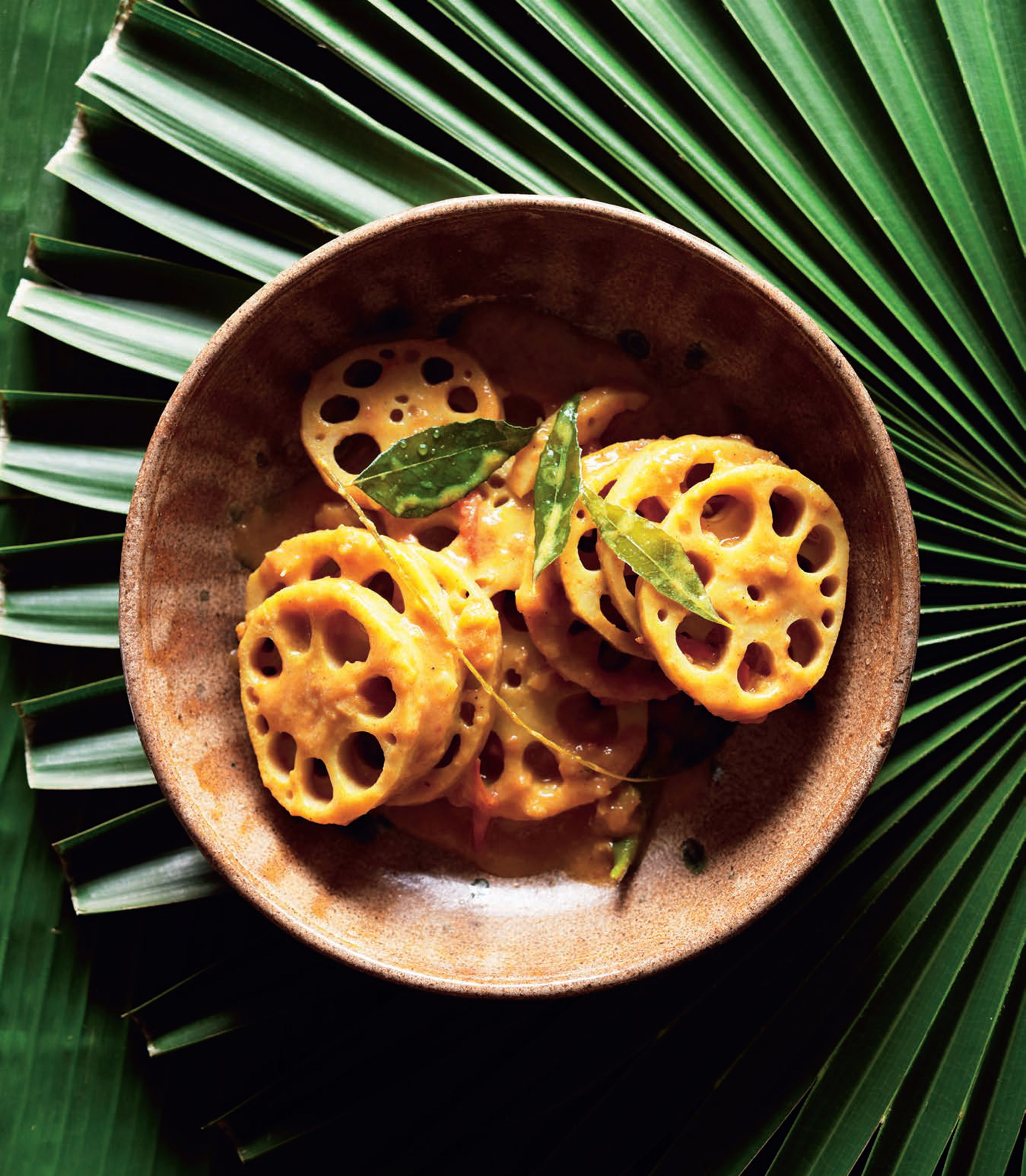 Lotus root curry