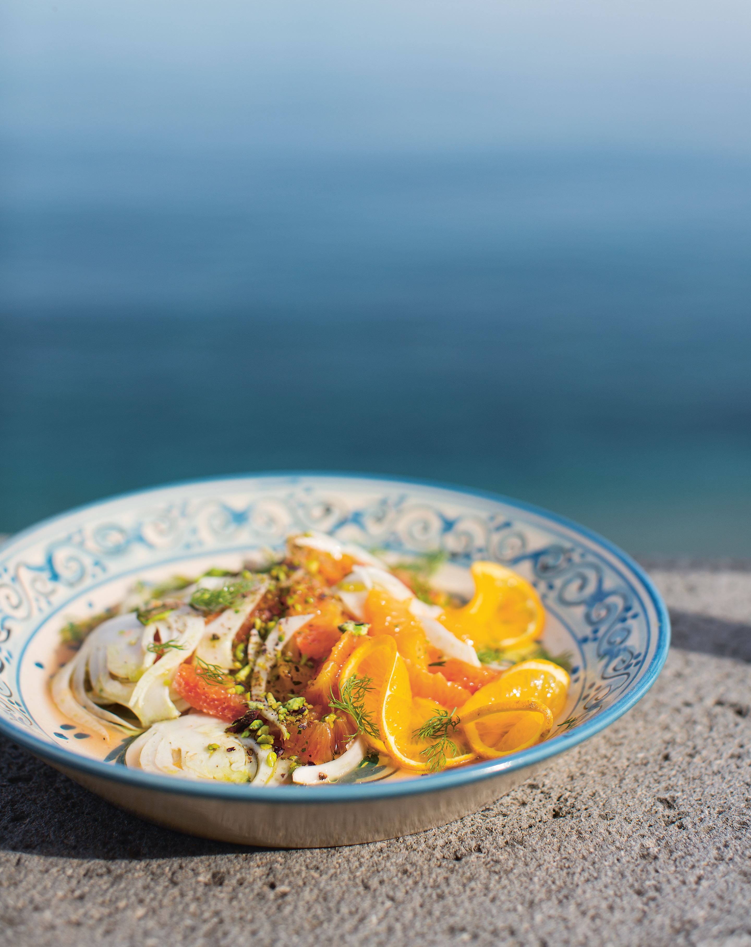 Orange & fennel salad