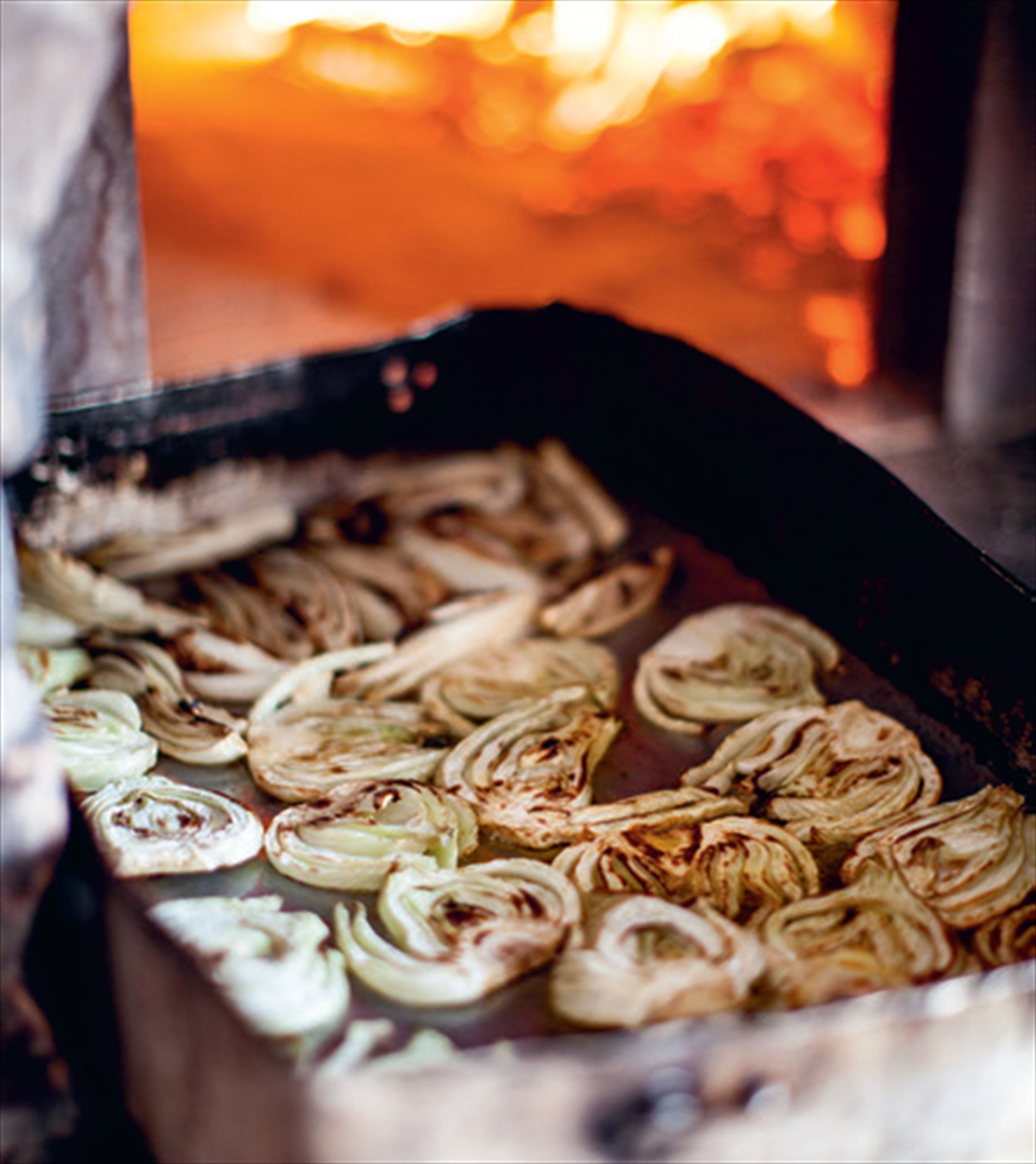 Slow-roasted Florence fennel with thyme