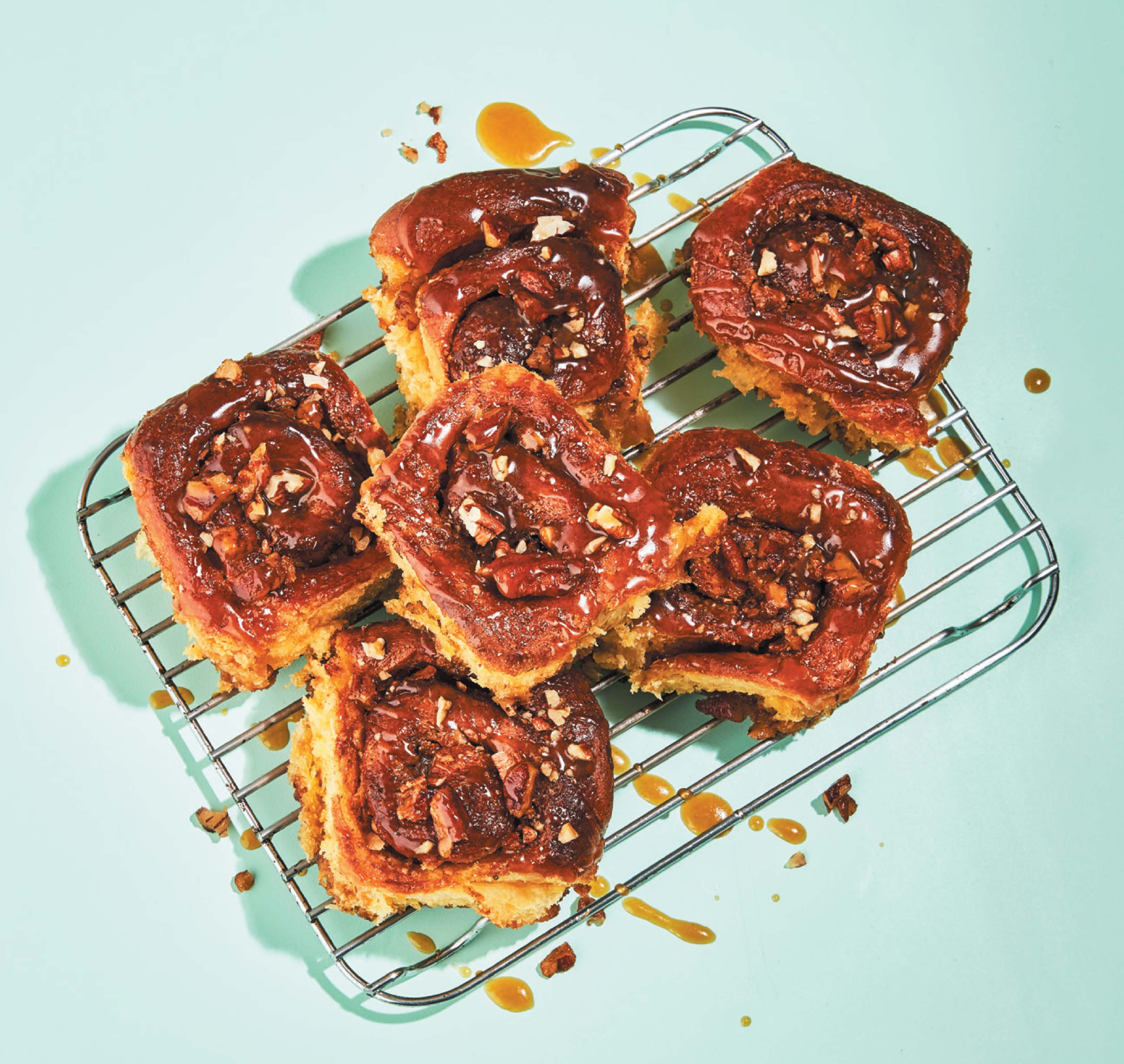 Sweet potato sticky buns