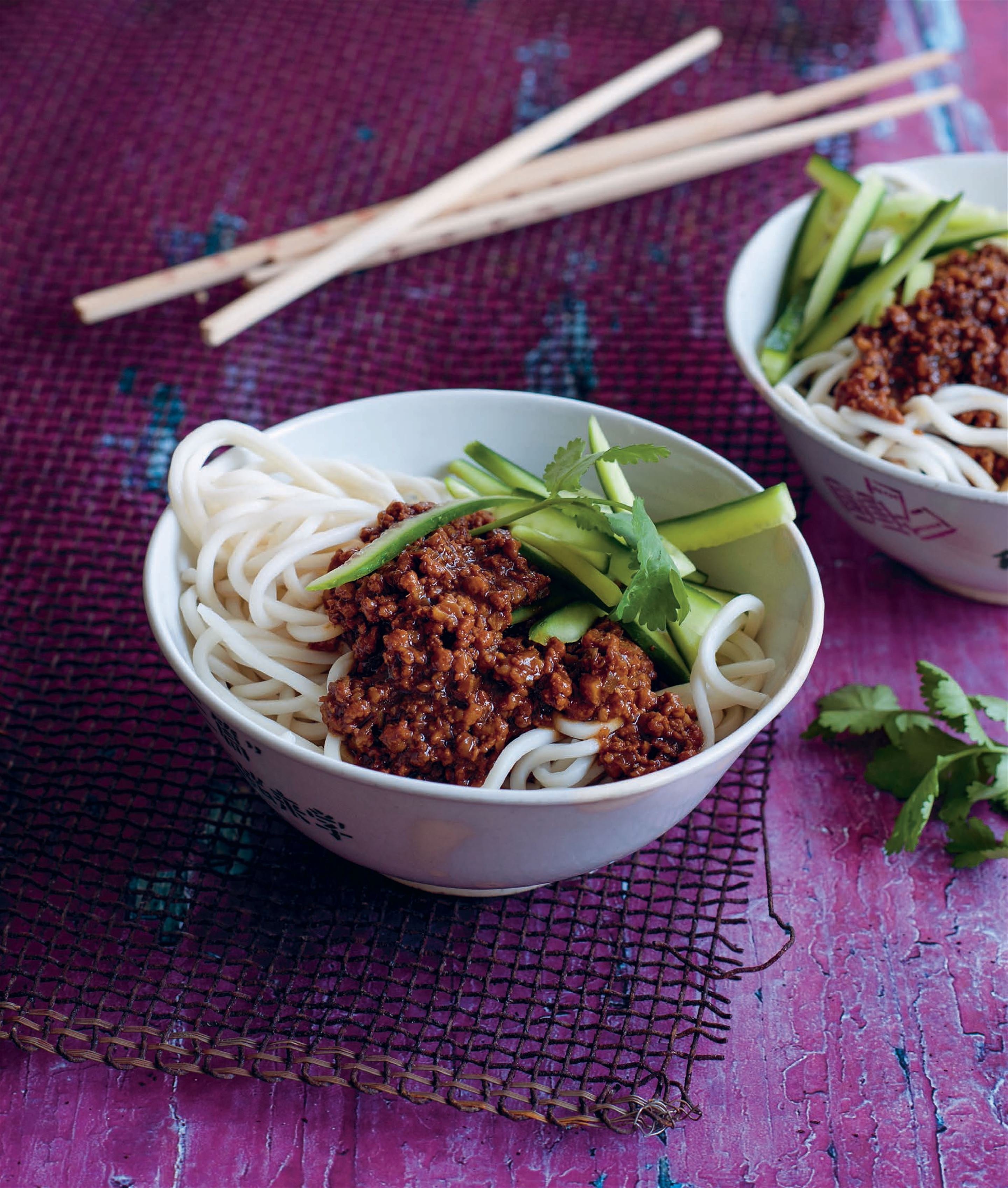 Beijing meat sauce with noodles