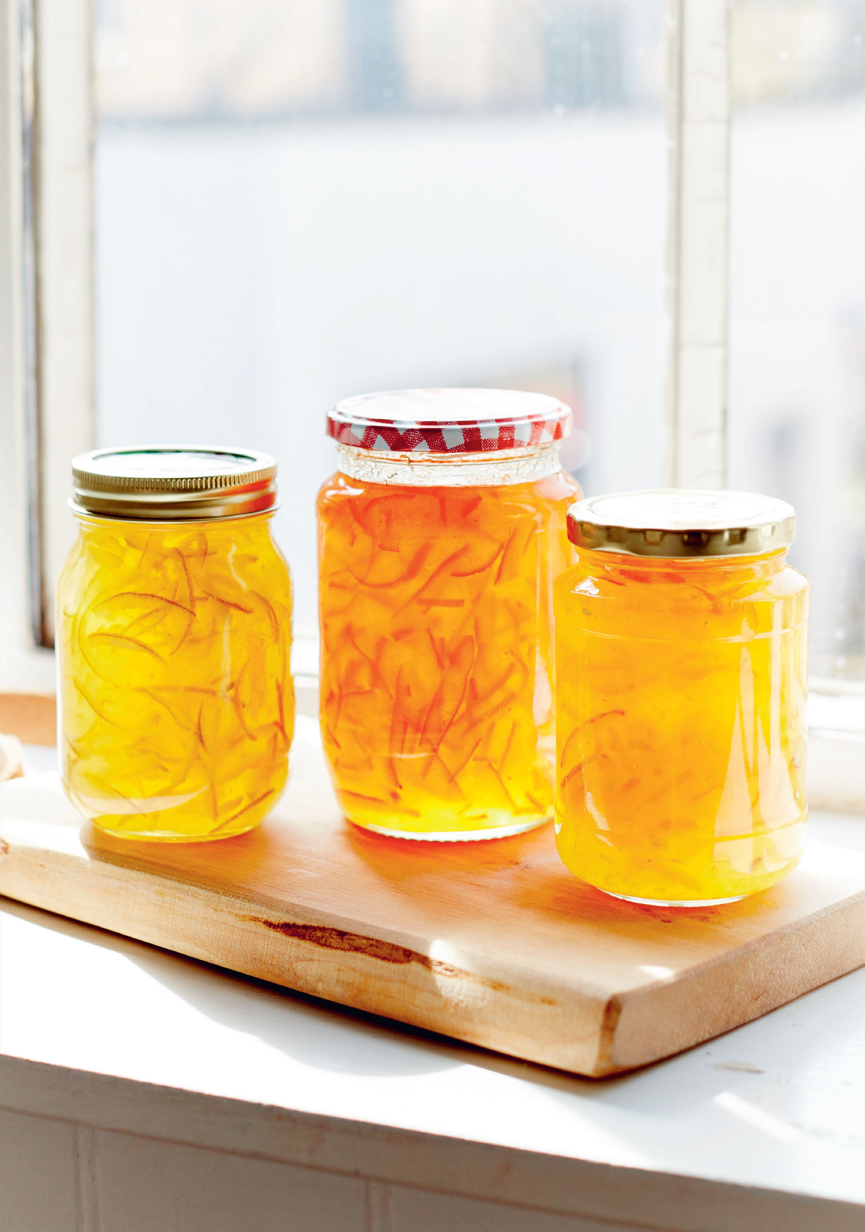 Lime and lemon marmalade
