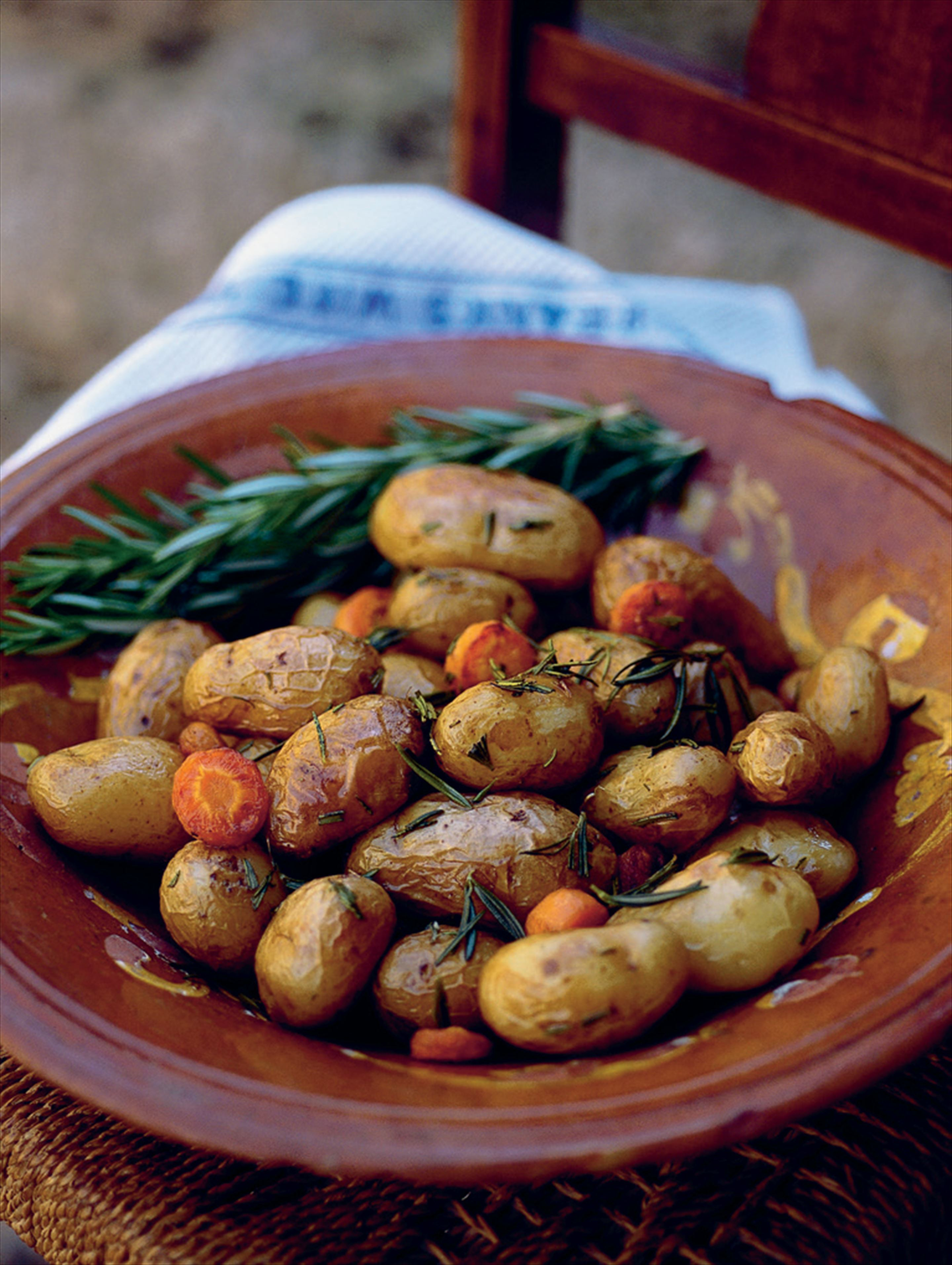Rosemary and carrot potatoes