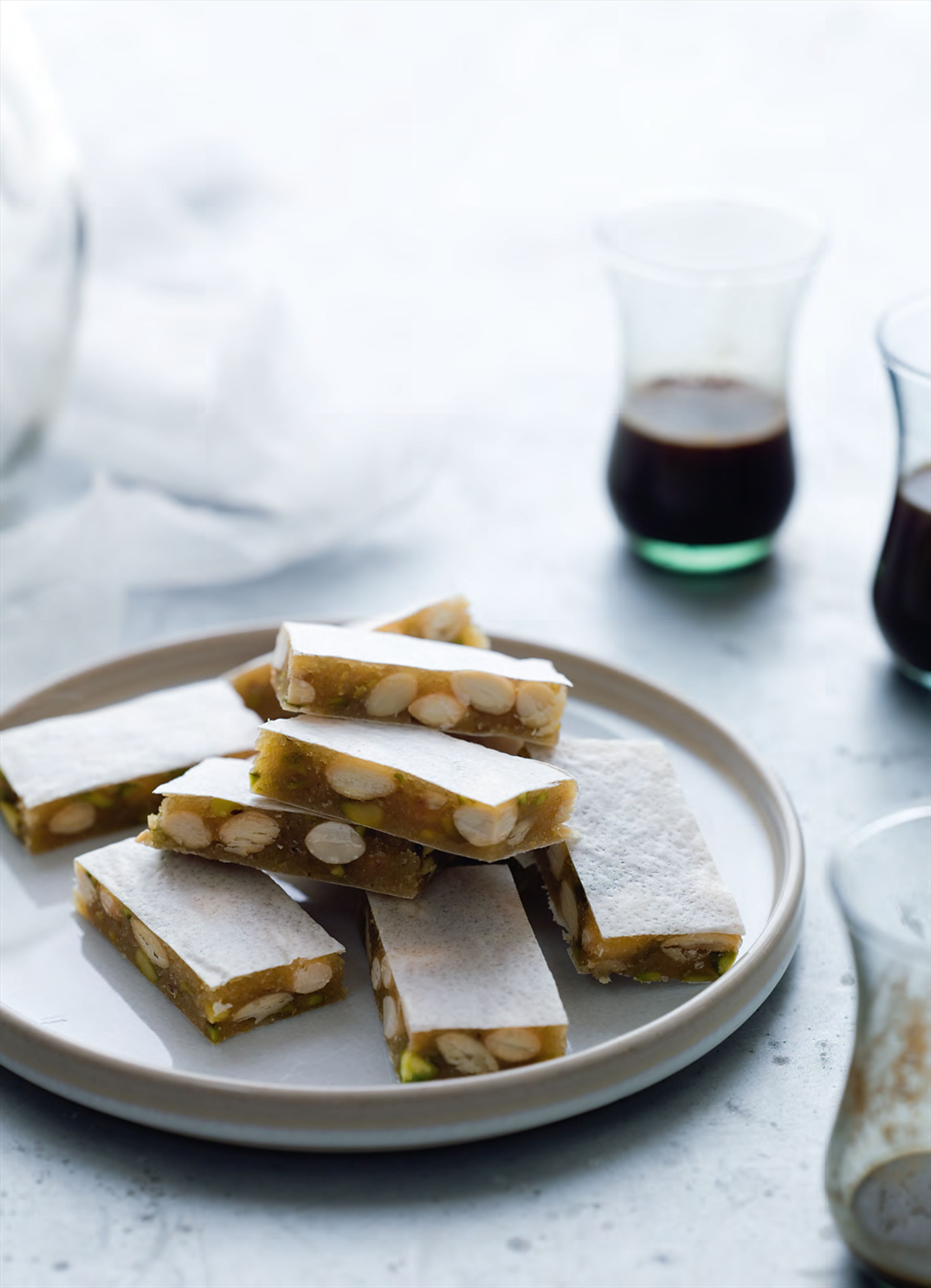 Arabic honey slice